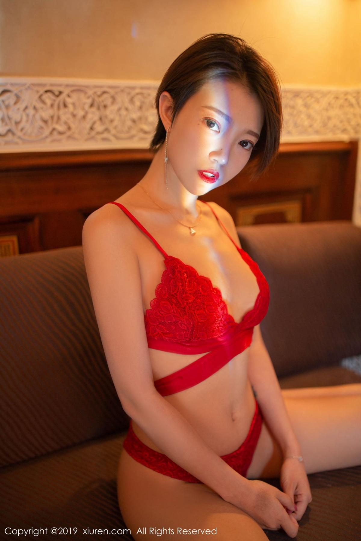 [XiuRen] Vol.1646 Feng Mu Mu 30P, Feng Mu Mu, Slim, Underwear, Xiuren