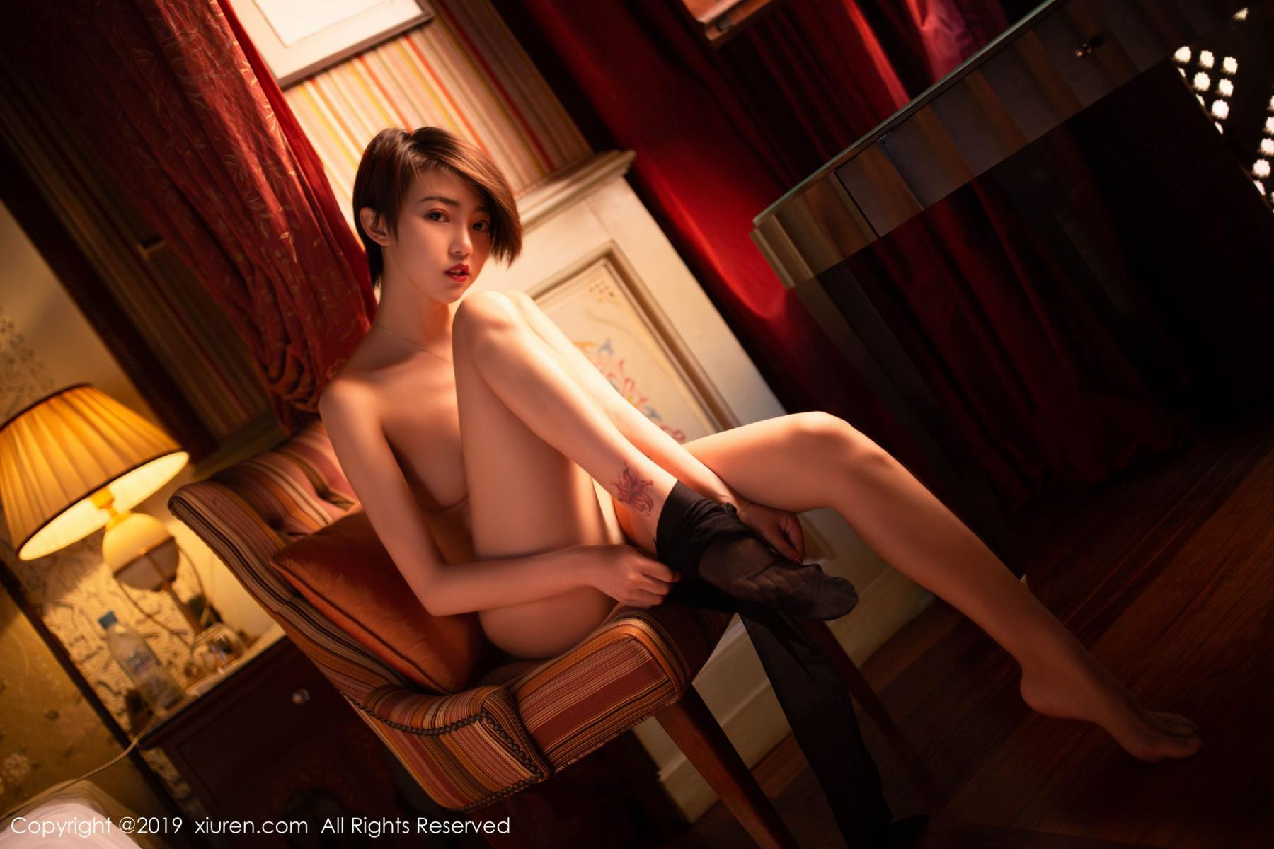 [XiuRen] Vol.1646 Feng Mu Mu 42P, Feng Mu Mu, Slim, Underwear, Xiuren