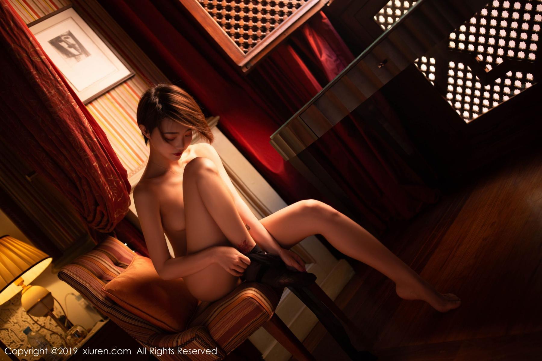 [XiuRen] Vol.1646 Feng Mu Mu 44P, Feng Mu Mu, Slim, Underwear, Xiuren