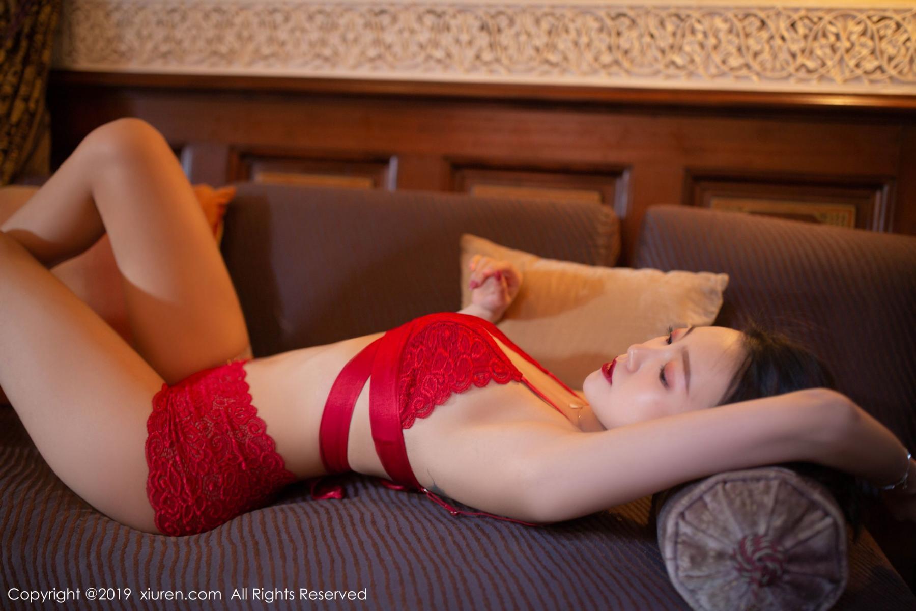 [XiuRen] Vol.1646 Feng Mu Mu 5P, Feng Mu Mu, Slim, Underwear, Xiuren