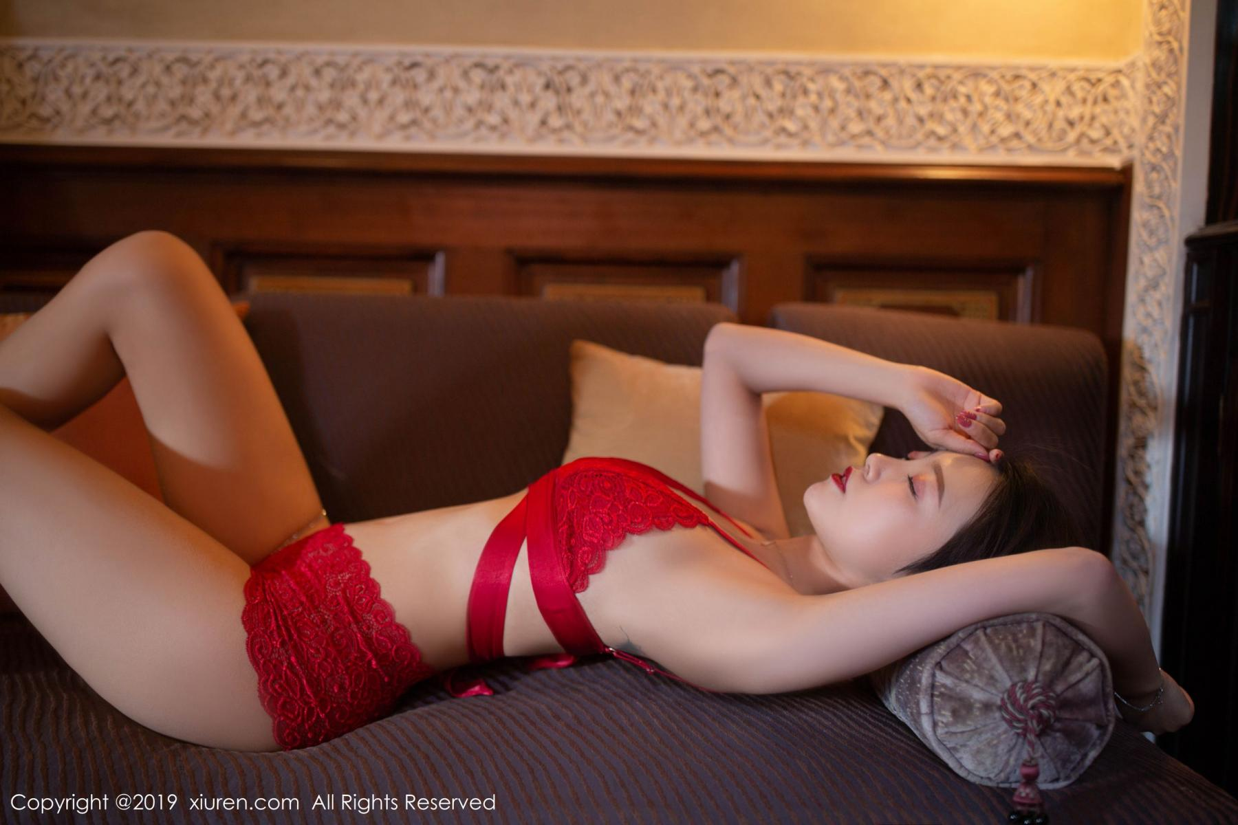 [XiuRen] Vol.1646 Feng Mu Mu 6P, Feng Mu Mu, Slim, Underwear, Xiuren