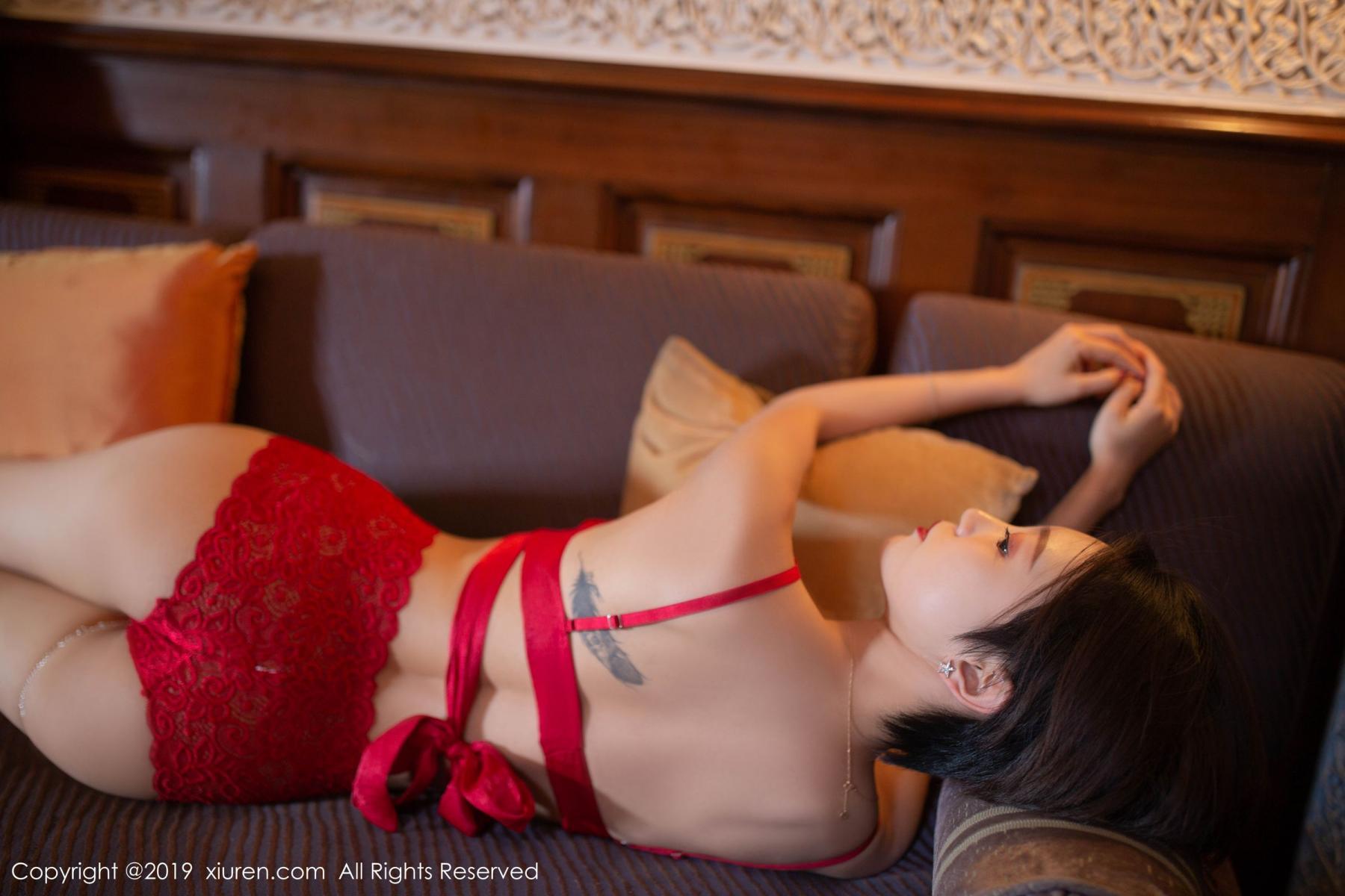 [XiuRen] Vol.1646 Feng Mu Mu 9P, Feng Mu Mu, Slim, Underwear, Xiuren