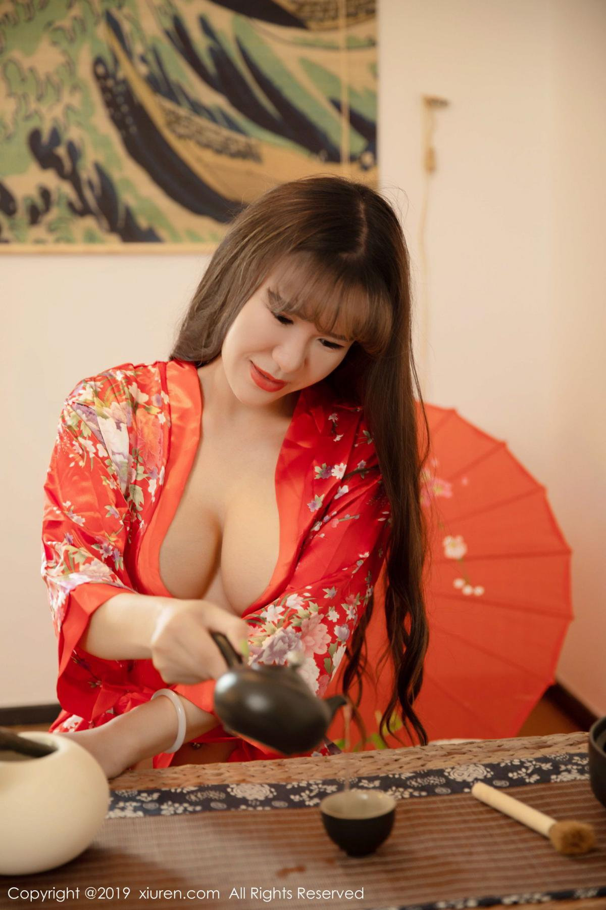 [XiuRen] Vol.1647 Wang Zi Lin 10P, Adult, Kimono, Mature, Wang Zi Lin, Xiuren