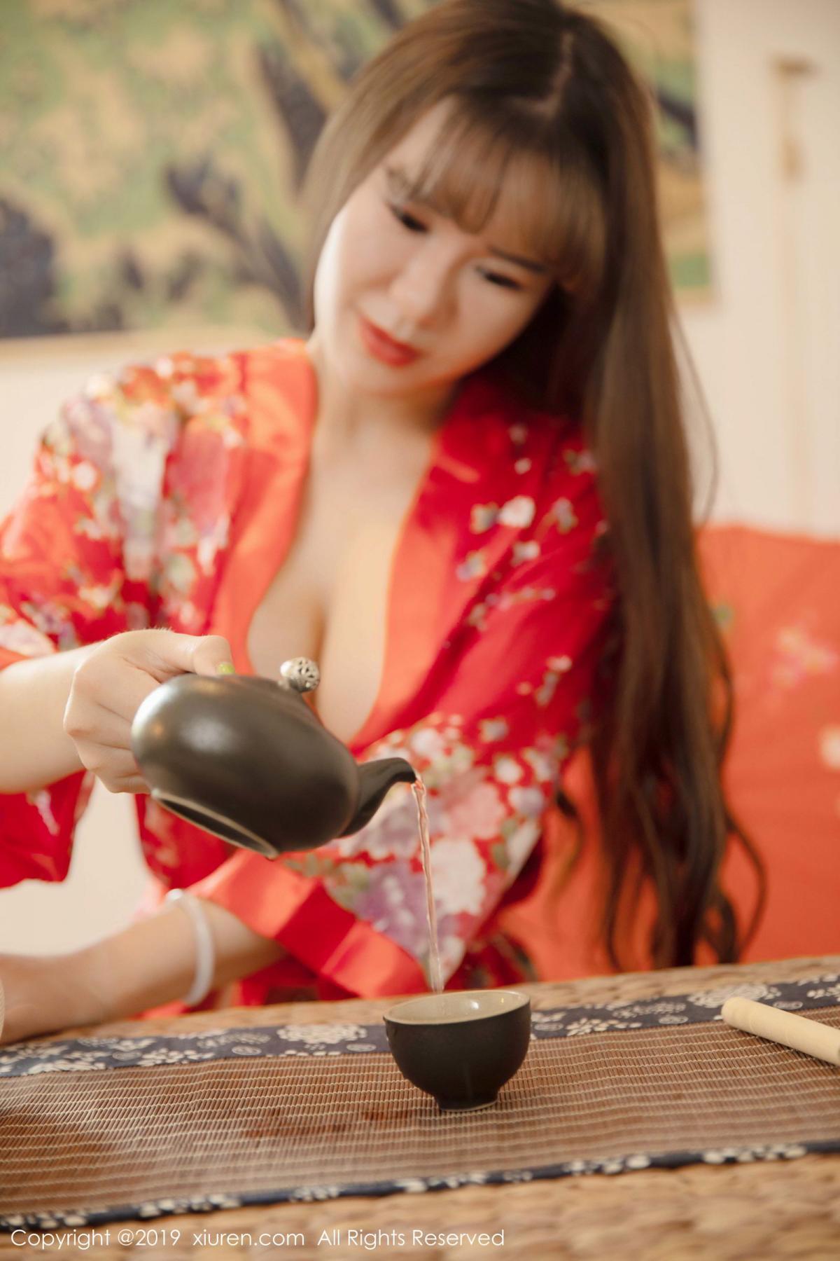 [XiuRen] Vol.1647 Wang Zi Lin 11P, Adult, Kimono, Mature, Wang Zi Lin, Xiuren