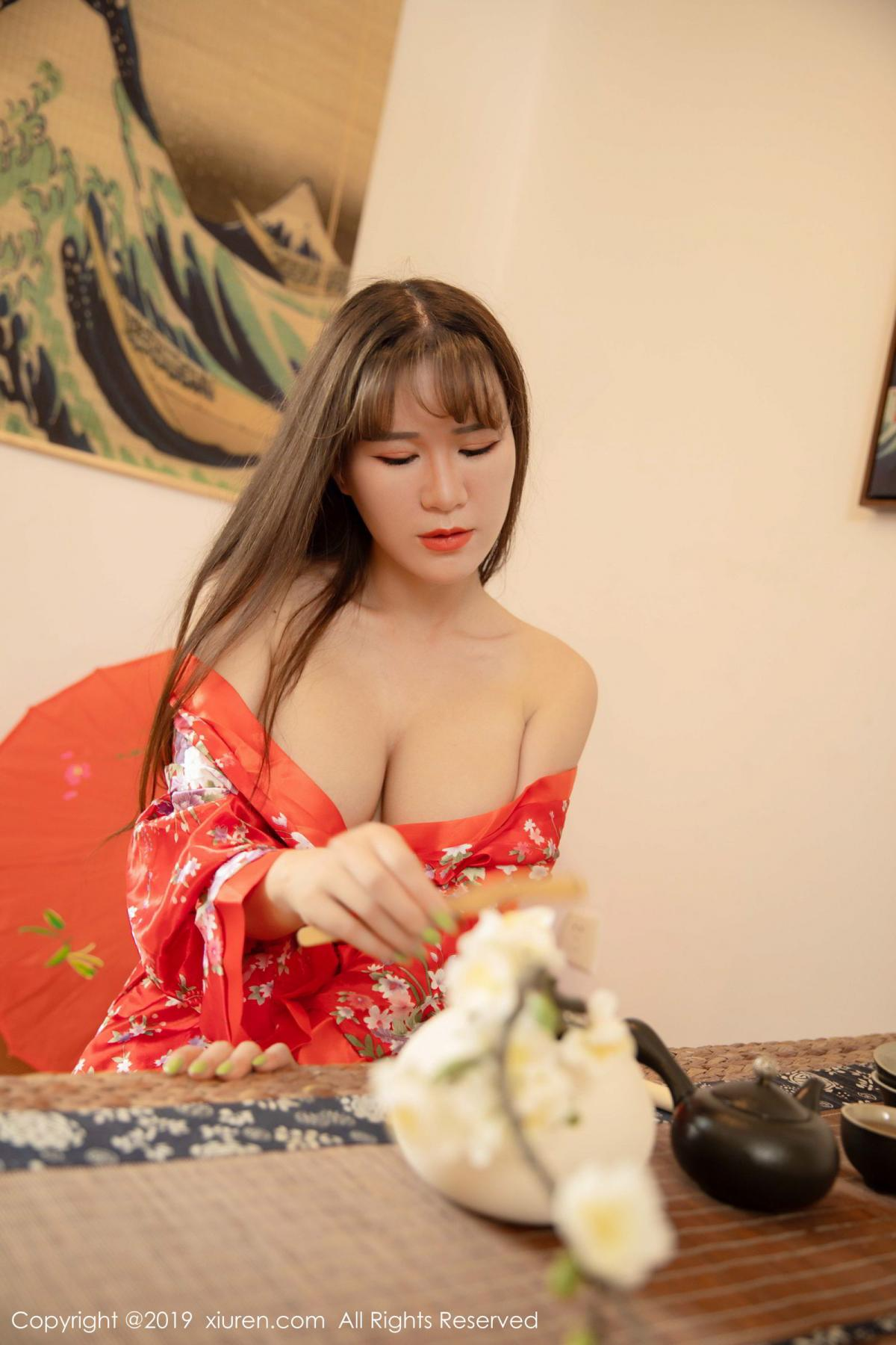 [XiuRen] Vol.1647 Wang Zi Lin 13P, Adult, Kimono, Mature, Wang Zi Lin, Xiuren