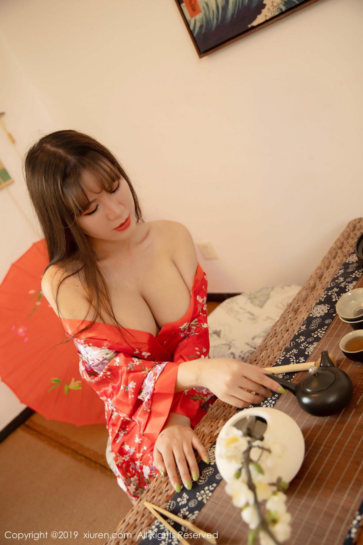 [XiuRen] Vol.1647 Wang Zi Lin 15P, Adult, Kimono, Mature, Wang Zi Lin, Xiuren
