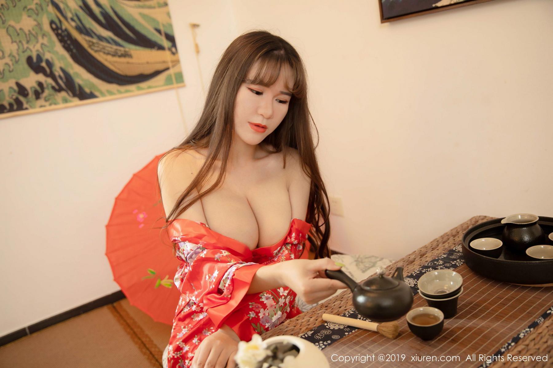 [XiuRen] Vol.1647 Wang Zi Lin 16P, Adult, Kimono, Mature, Wang Zi Lin, Xiuren