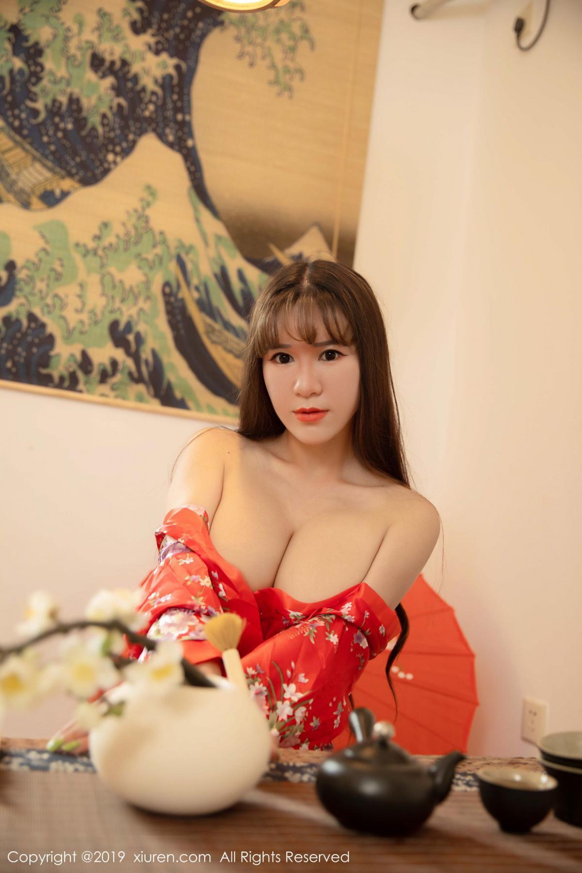 [XiuRen] Vol.1647 Wang Zi Lin 18P, Adult, Kimono, Mature, Wang Zi Lin, Xiuren