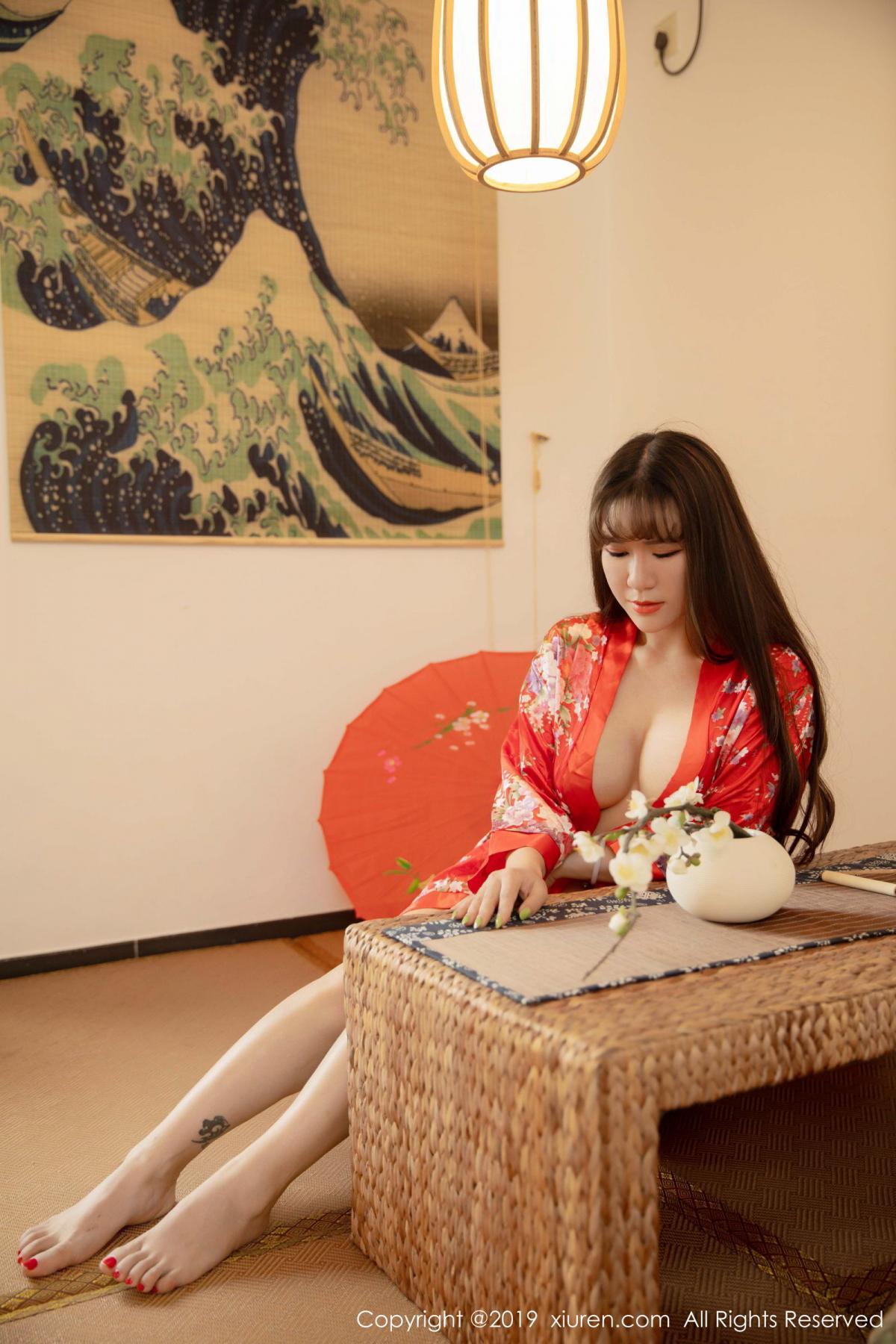 [XiuRen] Vol.1647 Wang Zi Lin 1P, Adult, Kimono, Mature, Wang Zi Lin, Xiuren
