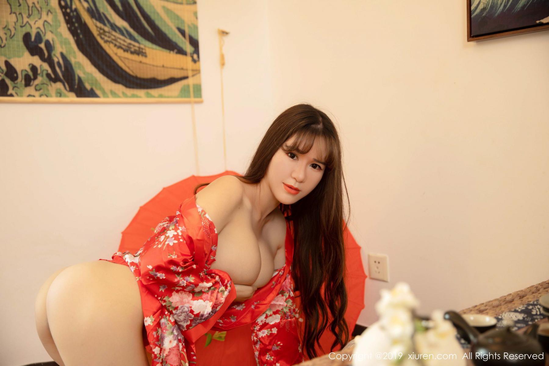 [XiuRen] Vol.1647 Wang Zi Lin 29P, Adult, Kimono, Mature, Wang Zi Lin, Xiuren
