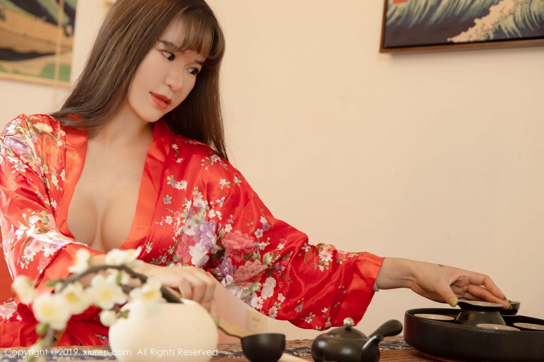 [XiuRen] Vol.1647 Wang Zi Lin 2P, Adult, Kimono, Mature, Wang Zi Lin, Xiuren