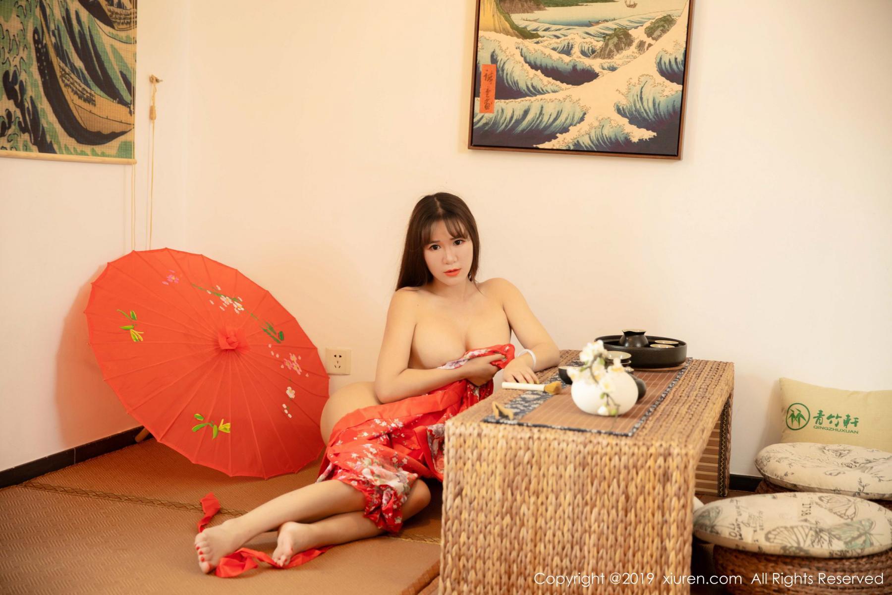 [XiuRen] Vol.1647 Wang Zi Lin 33P, Adult, Kimono, Mature, Wang Zi Lin, Xiuren