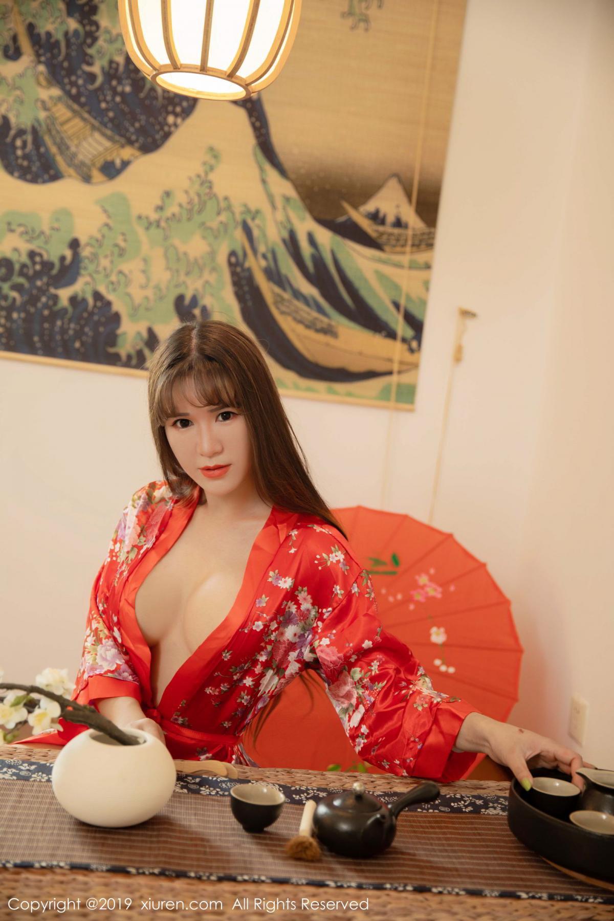 [XiuRen] Vol.1647 Wang Zi Lin 3P, Adult, Kimono, Mature, Wang Zi Lin, Xiuren