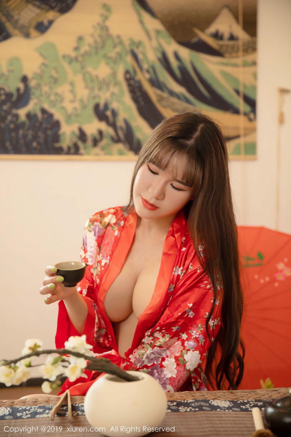 [XiuRen] Vol.1647 Wang Zi Lin 6P, Adult, Kimono, Mature, Wang Zi Lin, Xiuren