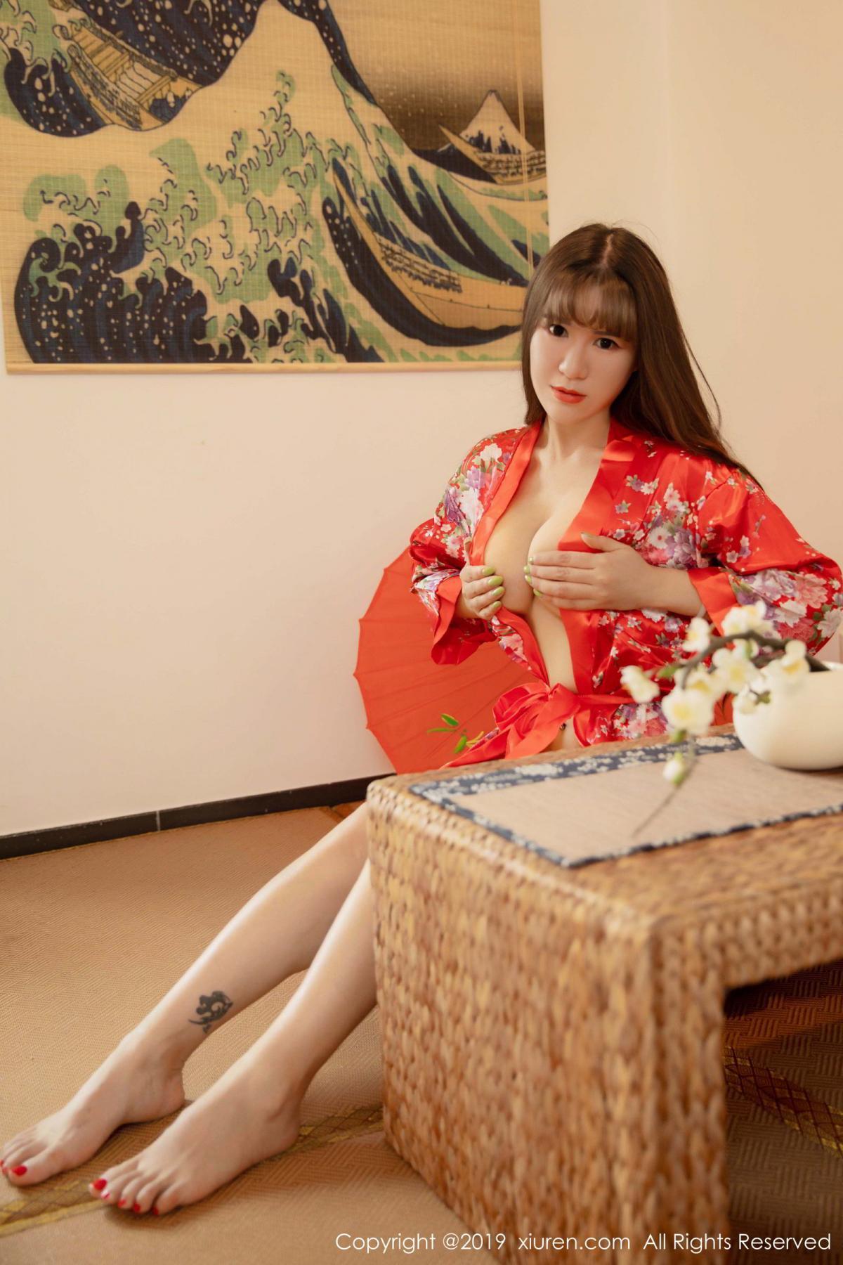 [XiuRen] Vol.1647 Wang Zi Lin 7P, Adult, Kimono, Mature, Wang Zi Lin, Xiuren