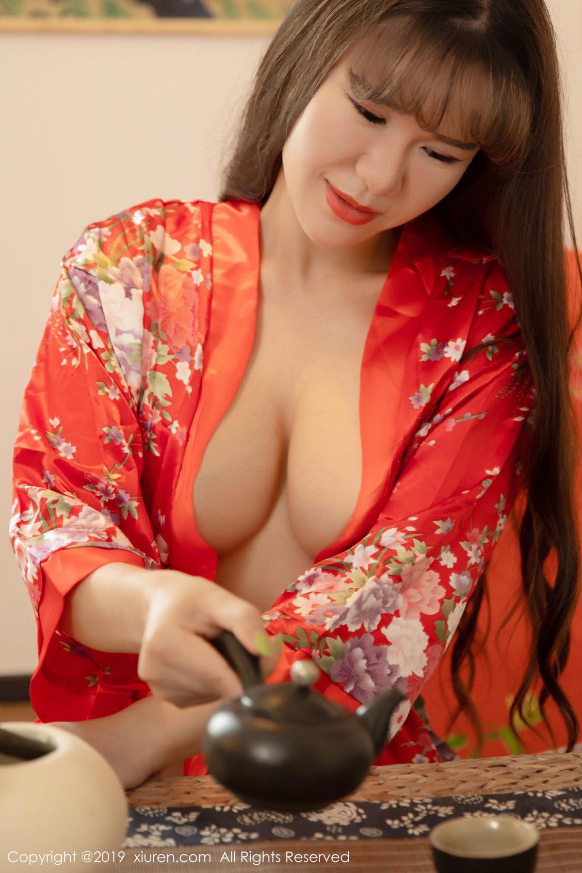 [XiuRen] Vol.1647 Wang Zi Lin 9P, Adult, Kimono, Mature, Wang Zi Lin, Xiuren