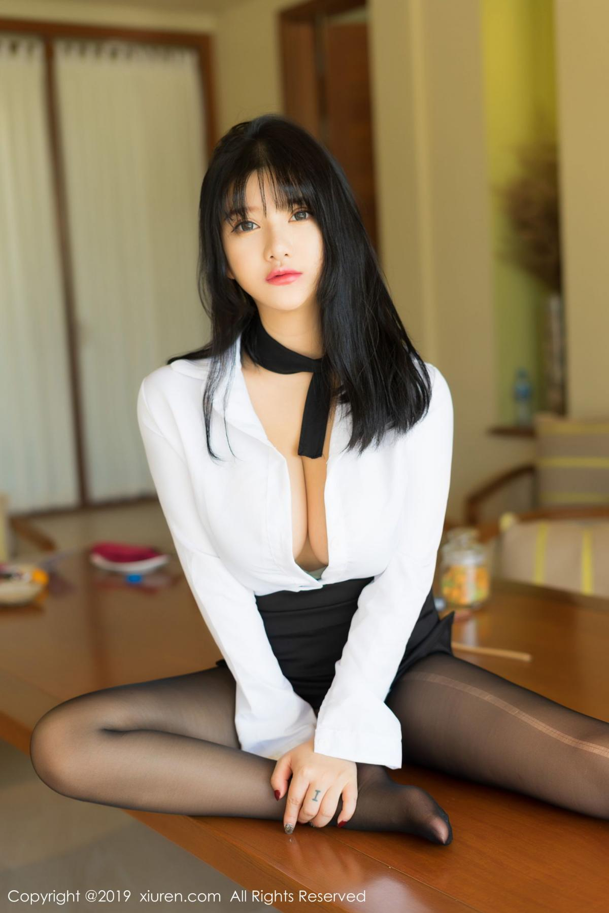 [XiuRen] Vol.1653 Lu Lu Xiao Miao 10P, Lu Lu Xiao Miao, Underwear, Xiuren