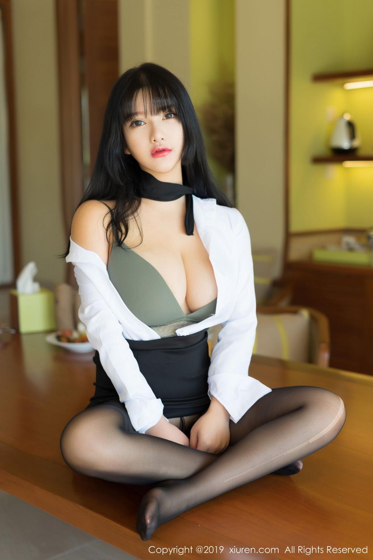 [XiuRen] Vol.1653 Lu Lu Xiao Miao 11P, Lu Lu Xiao Miao, Underwear, Xiuren