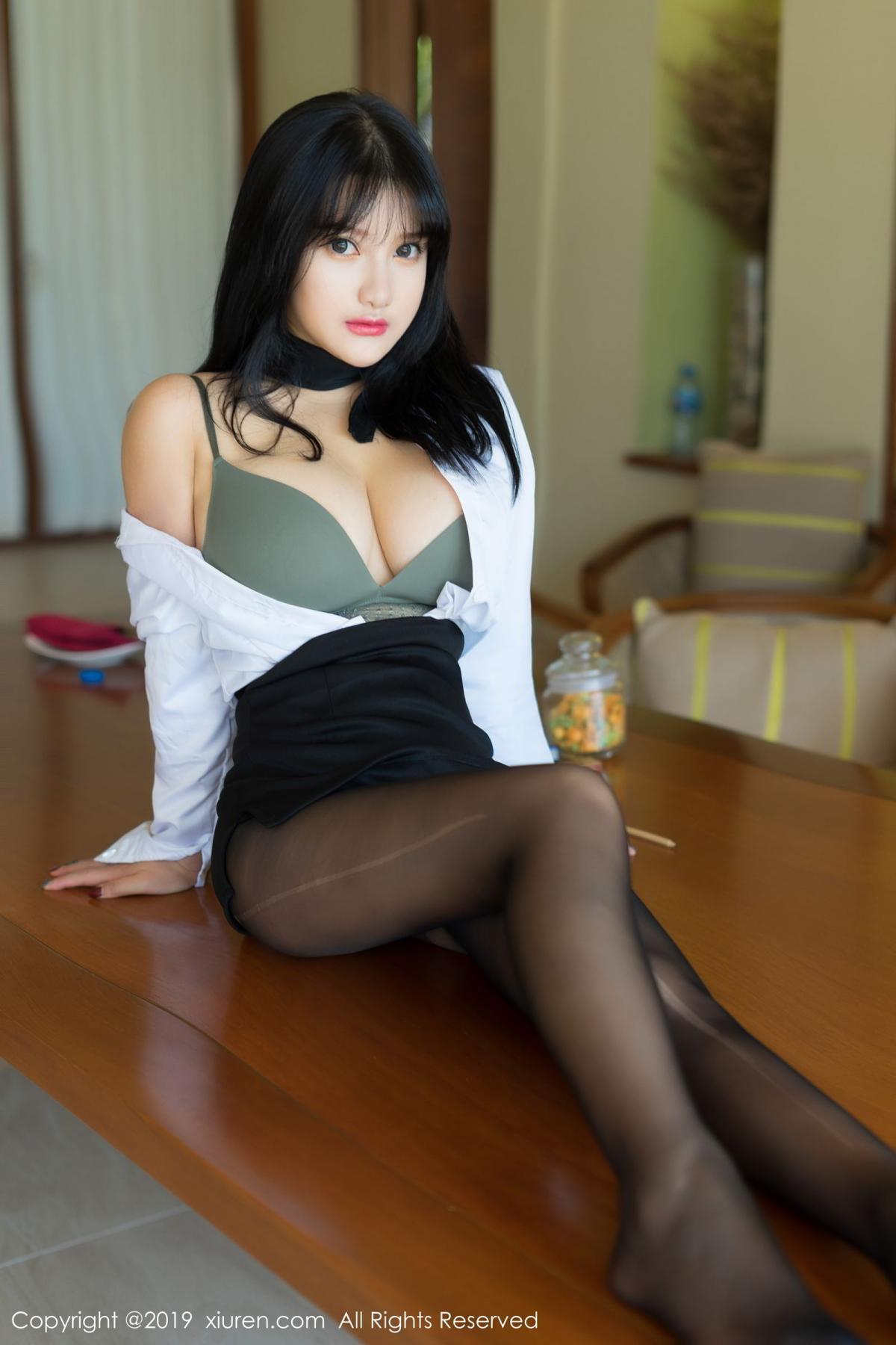 [XiuRen] Vol.1653 Lu Lu Xiao Miao 12P, Lu Lu Xiao Miao, Underwear, Xiuren