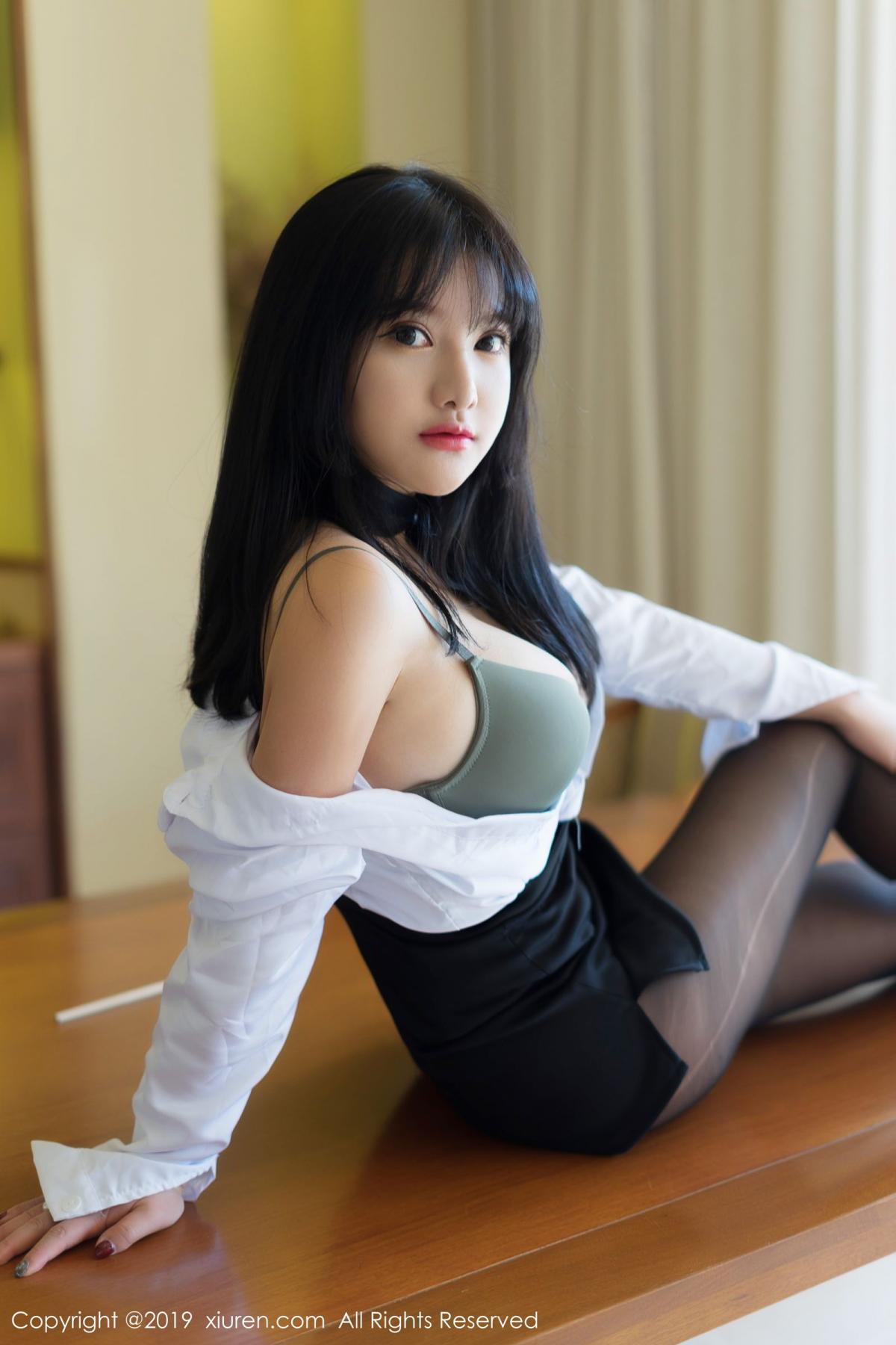 [XiuRen] Vol.1653 Lu Lu Xiao Miao 18P, Lu Lu Xiao Miao, Underwear, Xiuren