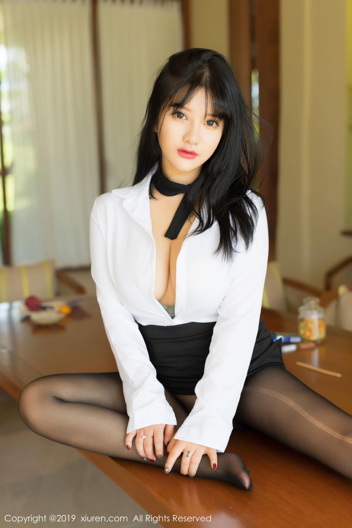 [XiuRen] Vol.1653 Lu Lu Xiao Miao 2P, Lu Lu Xiao Miao, Underwear, Xiuren