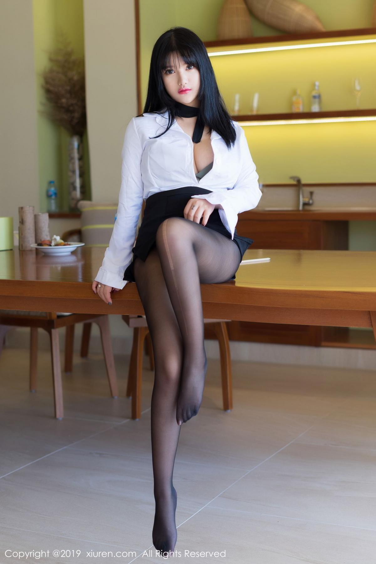 [XiuRen] Vol.1653 Lu Lu Xiao Miao 3P, Lu Lu Xiao Miao, Underwear, Xiuren