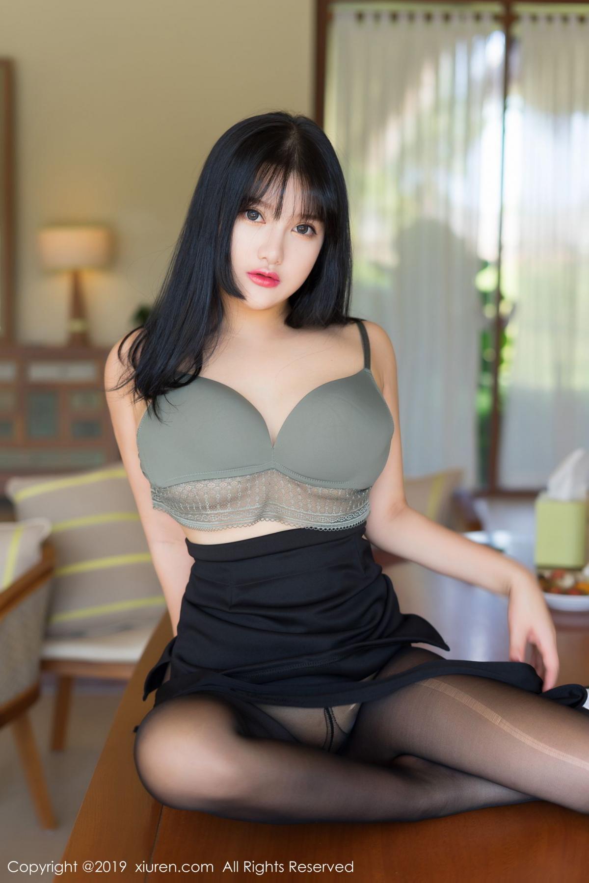 [XiuRen] Vol.1653 Lu Lu Xiao Miao 46P, Lu Lu Xiao Miao, Underwear, Xiuren