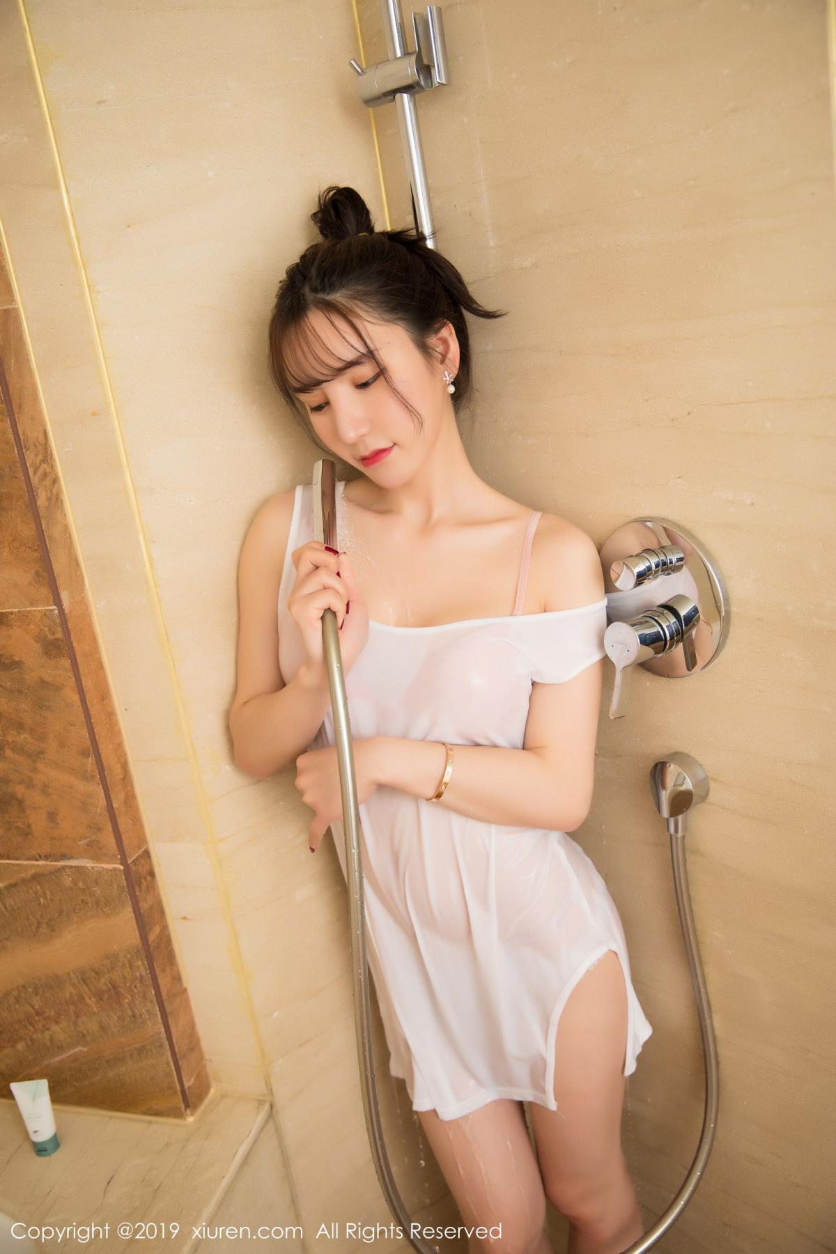 [XiuRen] Vol.1656 Zhou Yu Xi 13P, Bathroom, Underwear, Wet, Xiuren, Zhou Yu Xi
