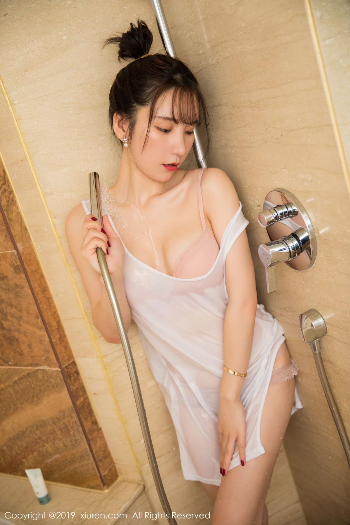 [XiuRen] Vol.1656 Zhou Yu Xi 19P, Bathroom, Underwear, Wet, Xiuren, Zhou Yu Xi