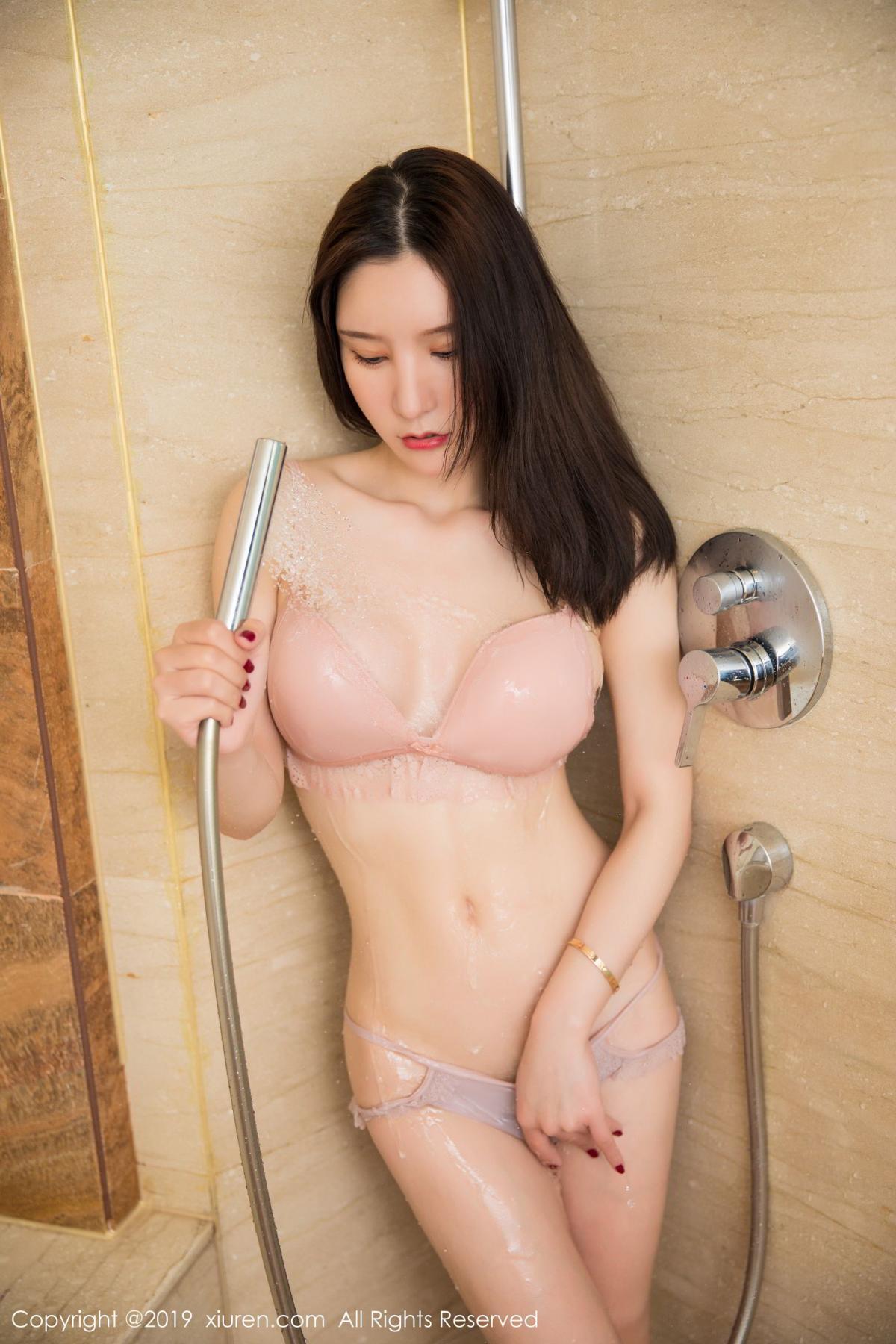 [XiuRen] Vol.1656 Zhou Yu Xi 56P, Bathroom, Underwear, Wet, Xiuren, Zhou Yu Xi