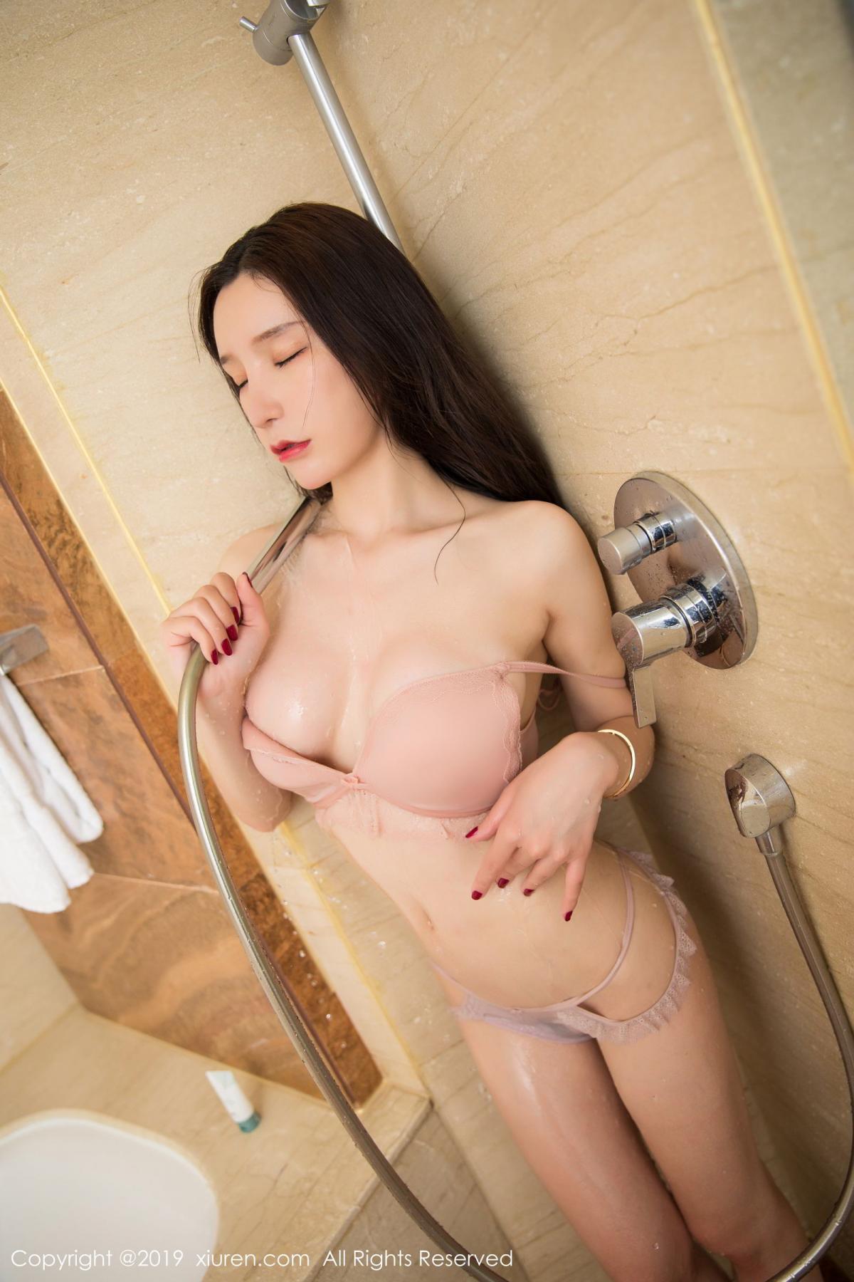 [XiuRen] Vol.1656 Zhou Yu Xi 58P, Bathroom, Underwear, Wet, Xiuren, Zhou Yu Xi