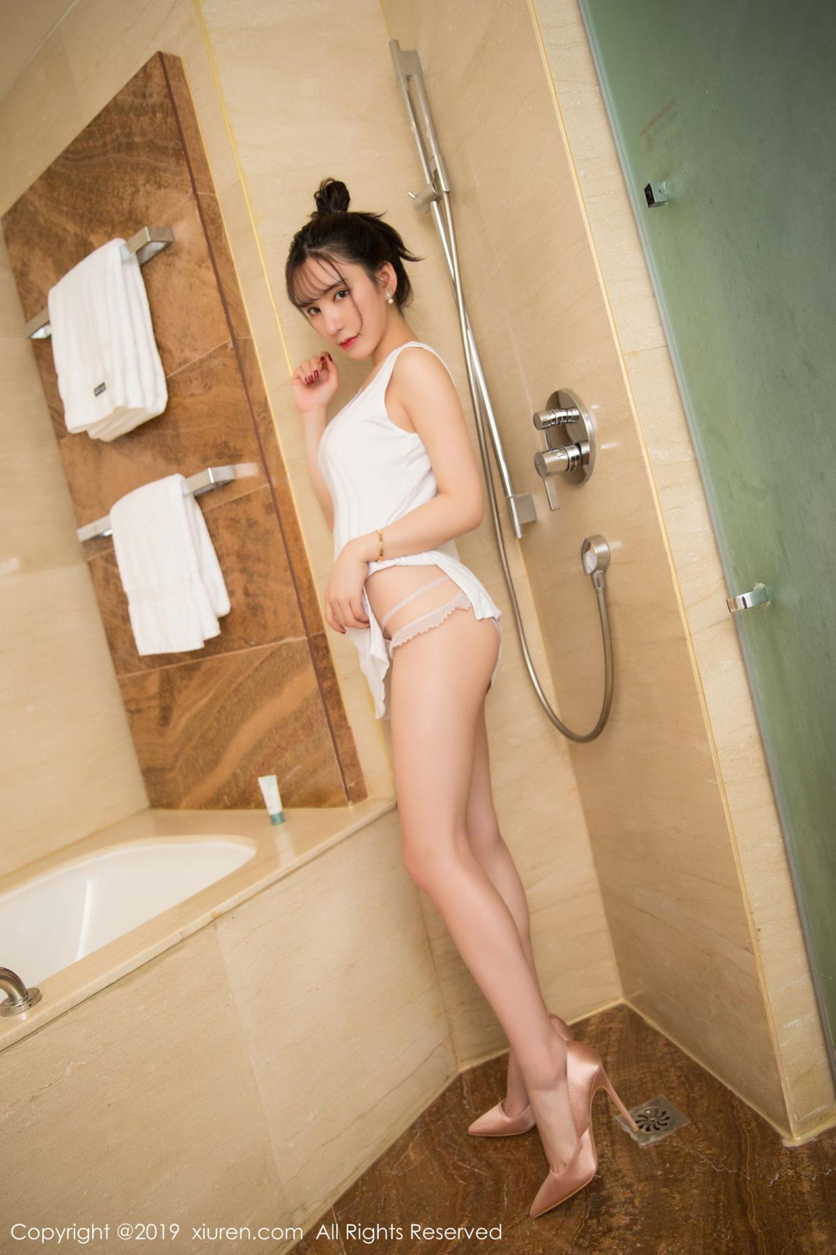 [XiuRen] Vol.1656 Zhou Yu Xi 8P, Bathroom, Underwear, Wet, Xiuren, Zhou Yu Xi