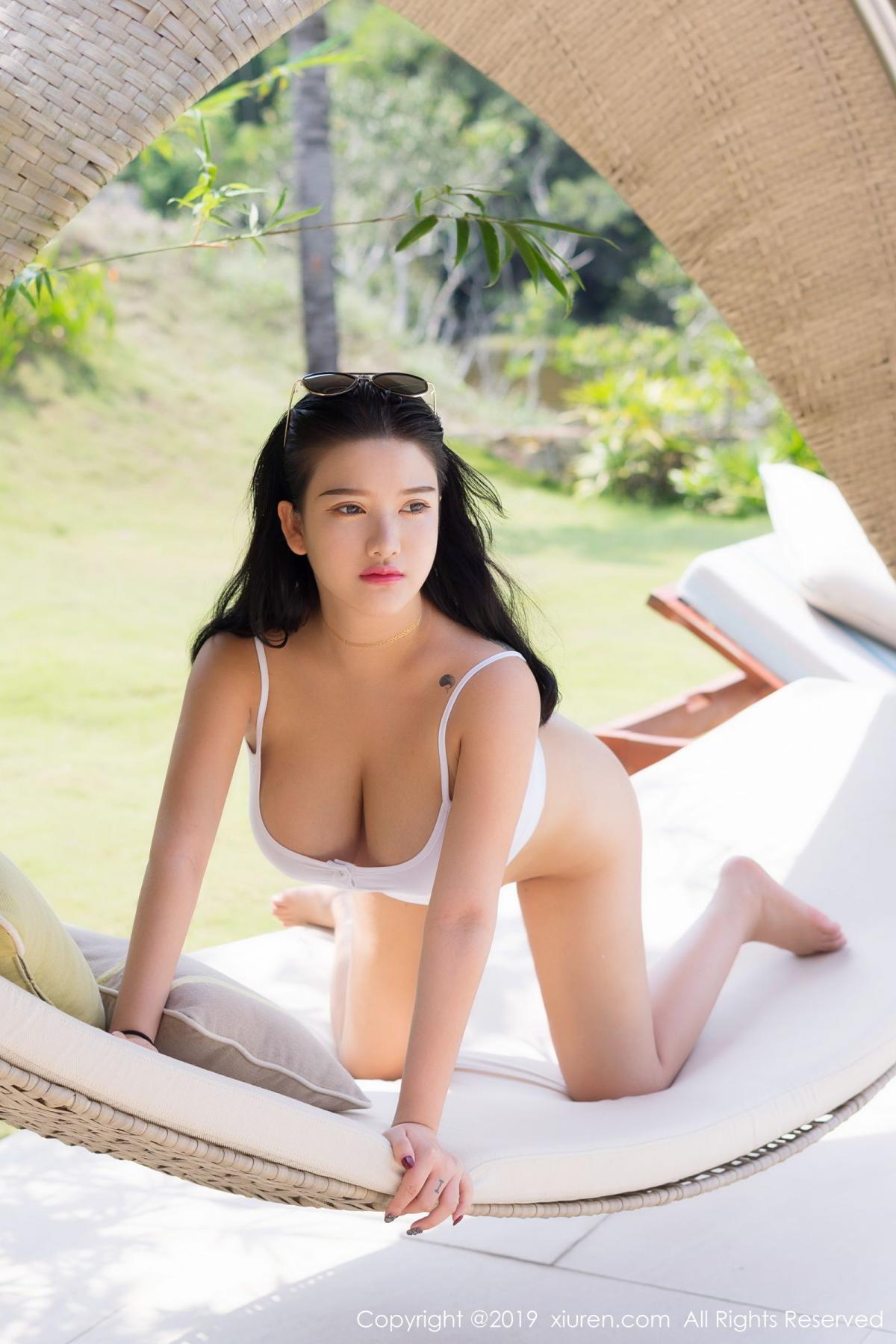 [XiuRen] Vol.1661 Lu Lu Xiao Miao 10P, Bikini, Lu Lu Xiao Miao, Swim Pool, Wet, Xiuren