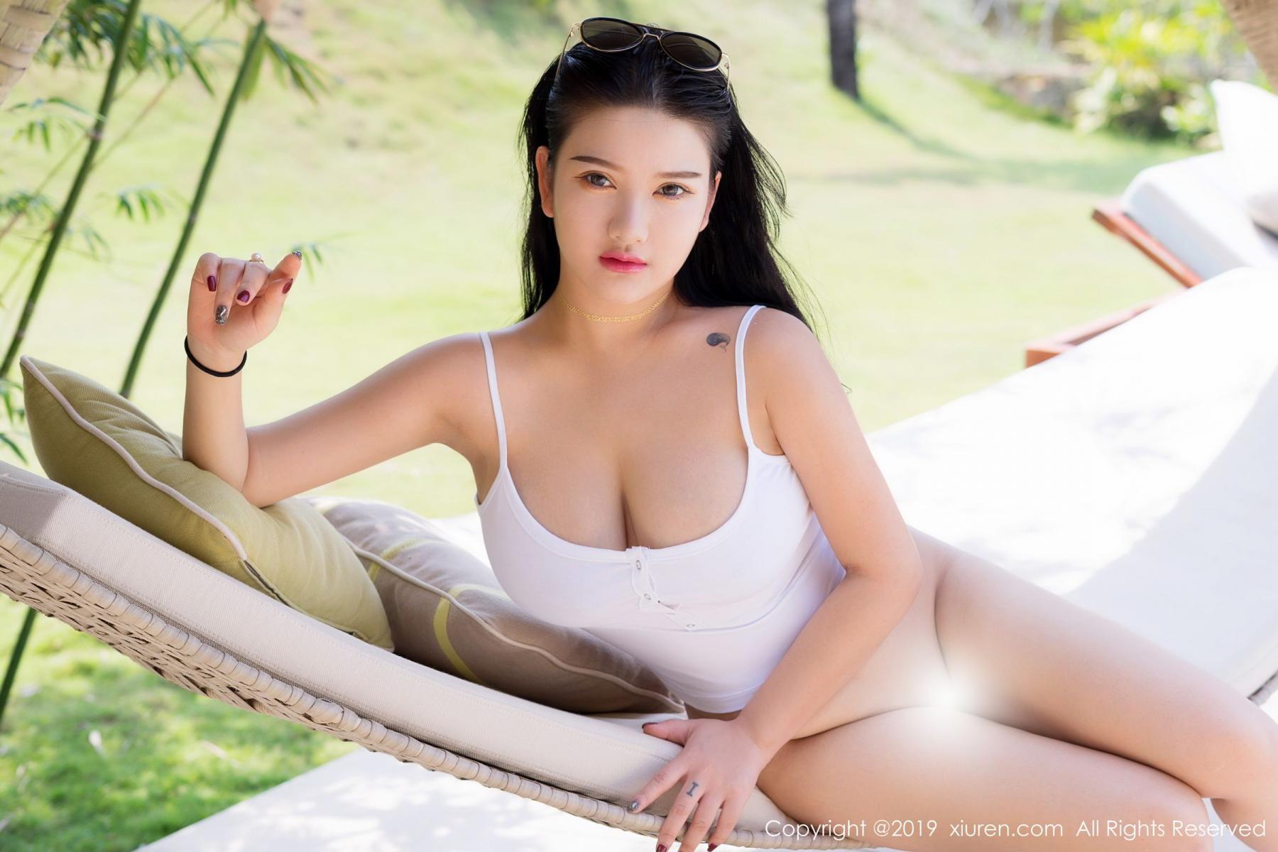 [XiuRen] Vol.1661 Lu Lu Xiao Miao 17P, Bikini, Lu Lu Xiao Miao, Swim Pool, Wet, Xiuren
