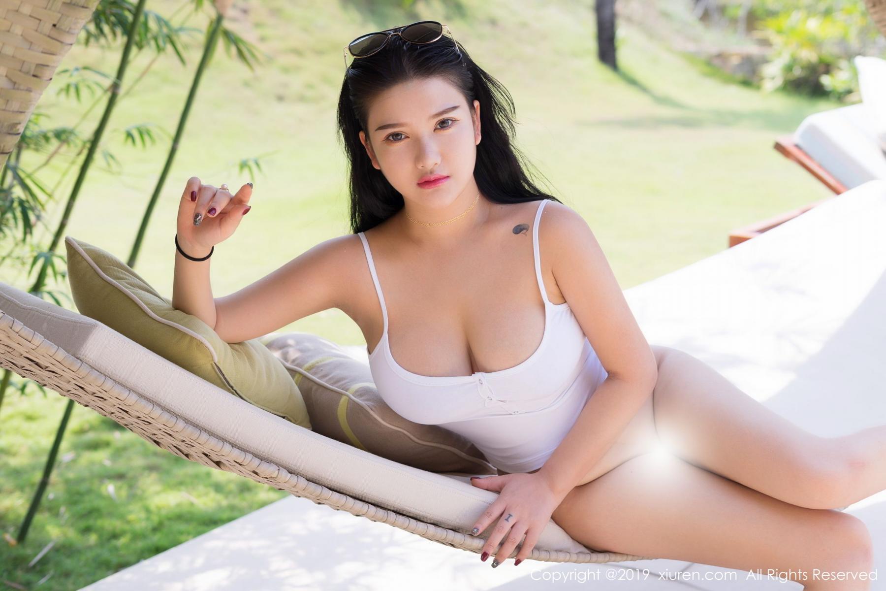 [XiuRen] Vol.1661 Lu Lu Xiao Miao 18P, Bikini, Lu Lu Xiao Miao, Swim Pool, Wet, Xiuren