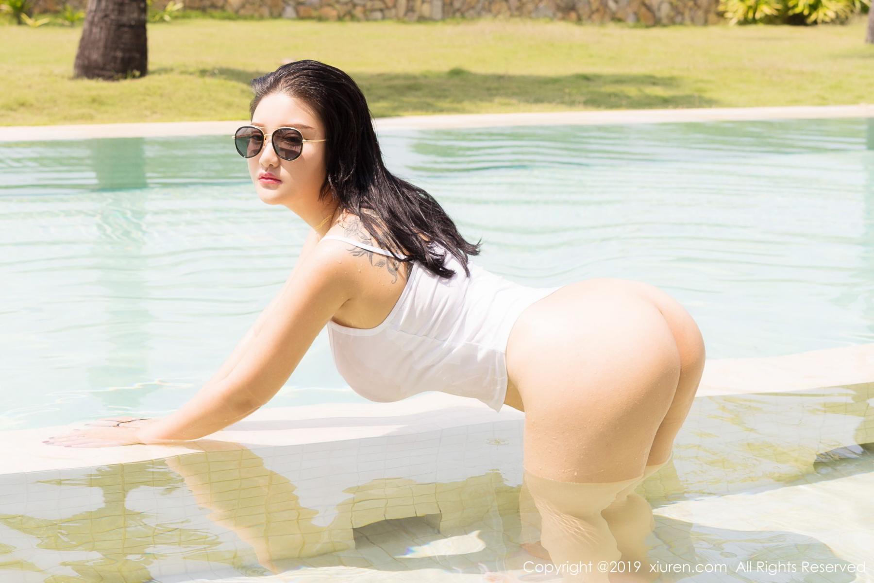 [XiuRen] Vol.1661 Lu Lu Xiao Miao 36P, Bikini, Lu Lu Xiao Miao, Swim Pool, Wet, Xiuren