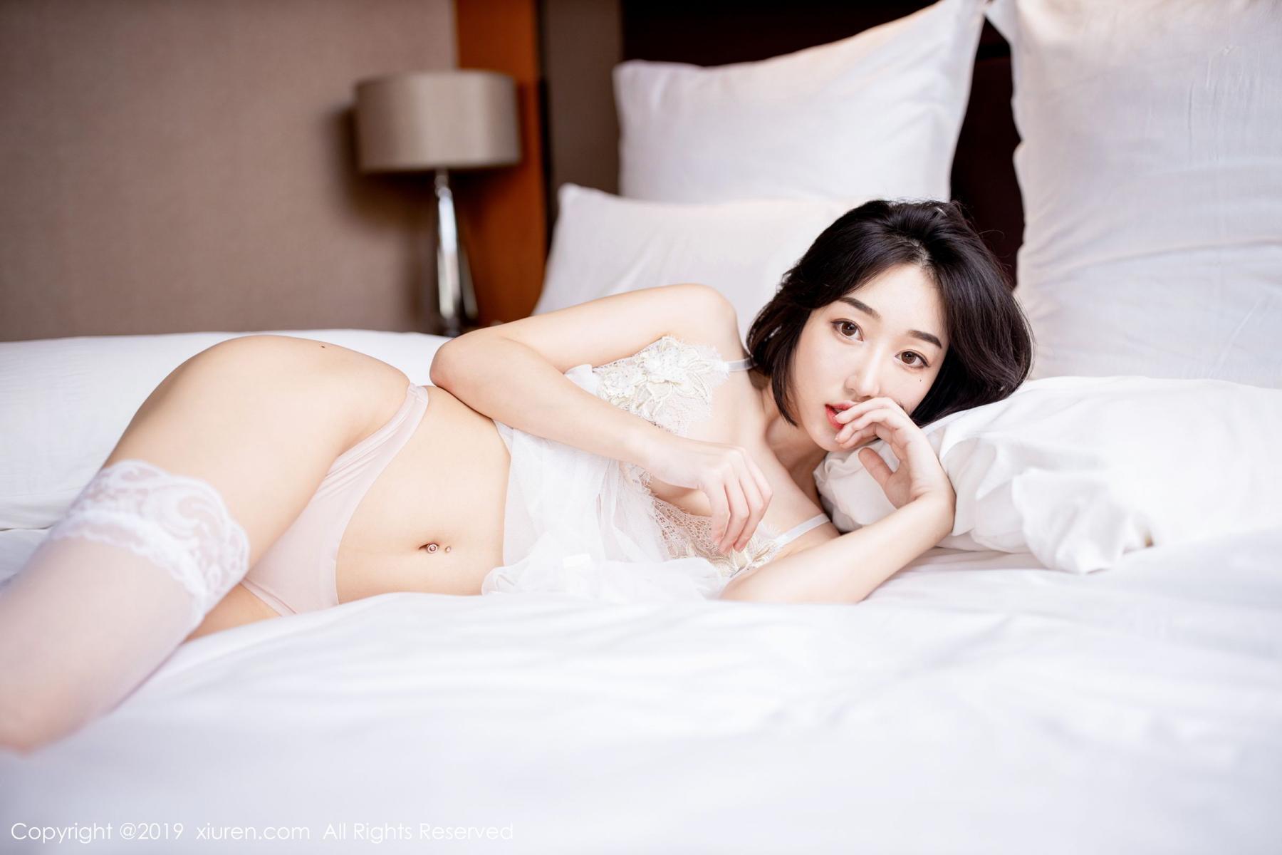 [XiuRen] Vol.1665 Xiao Jiu Yue 36P, Underwear, Wet, Xiao Jiu Yue, Xiuren