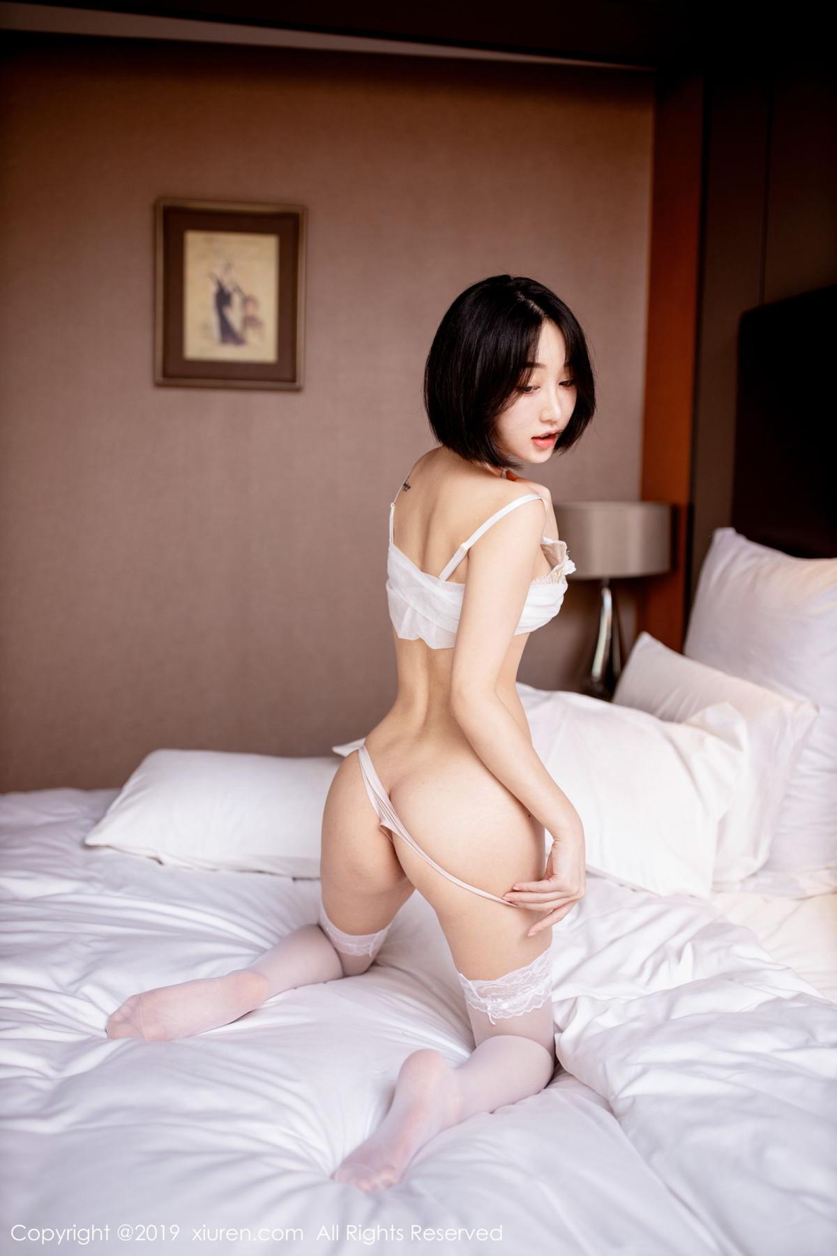 [XiuRen] Vol.1665 Xiao Jiu Yue 46P, Underwear, Wet, Xiao Jiu Yue, Xiuren