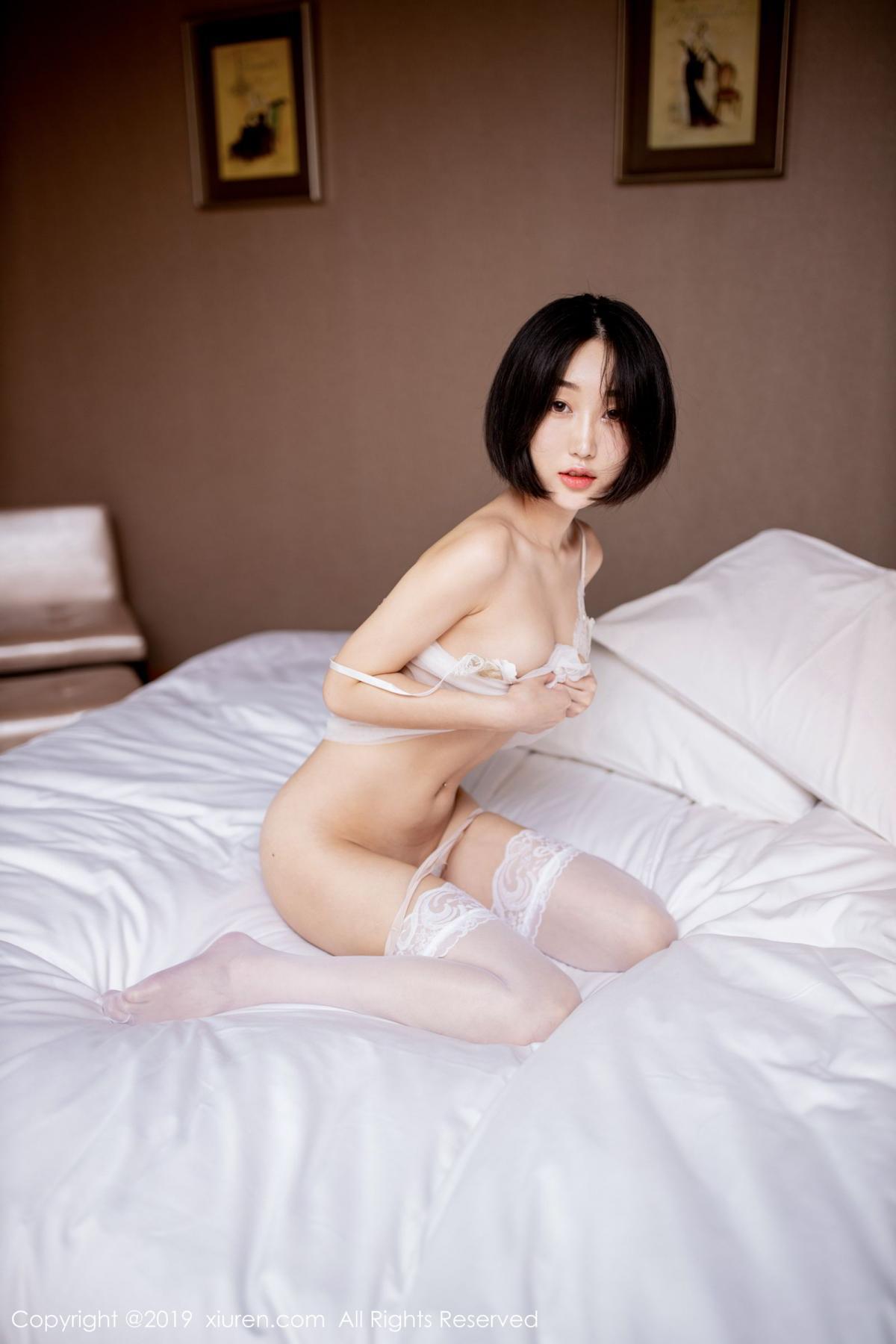 [XiuRen] Vol.1665 Xiao Jiu Yue 48P, Underwear, Wet, Xiao Jiu Yue, Xiuren