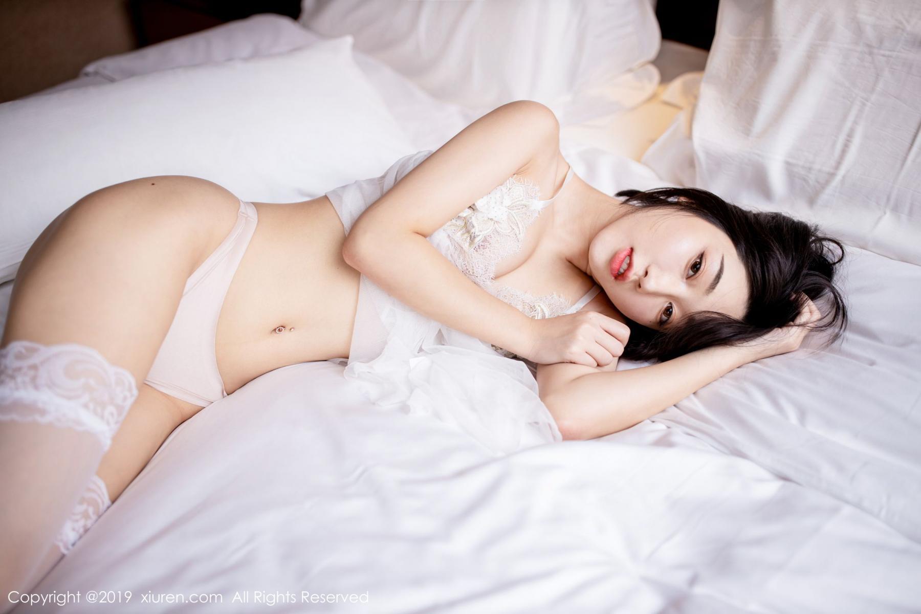[XiuRen] Vol.1665 Xiao Jiu Yue 4P, Underwear, Wet, Xiao Jiu Yue, Xiuren
