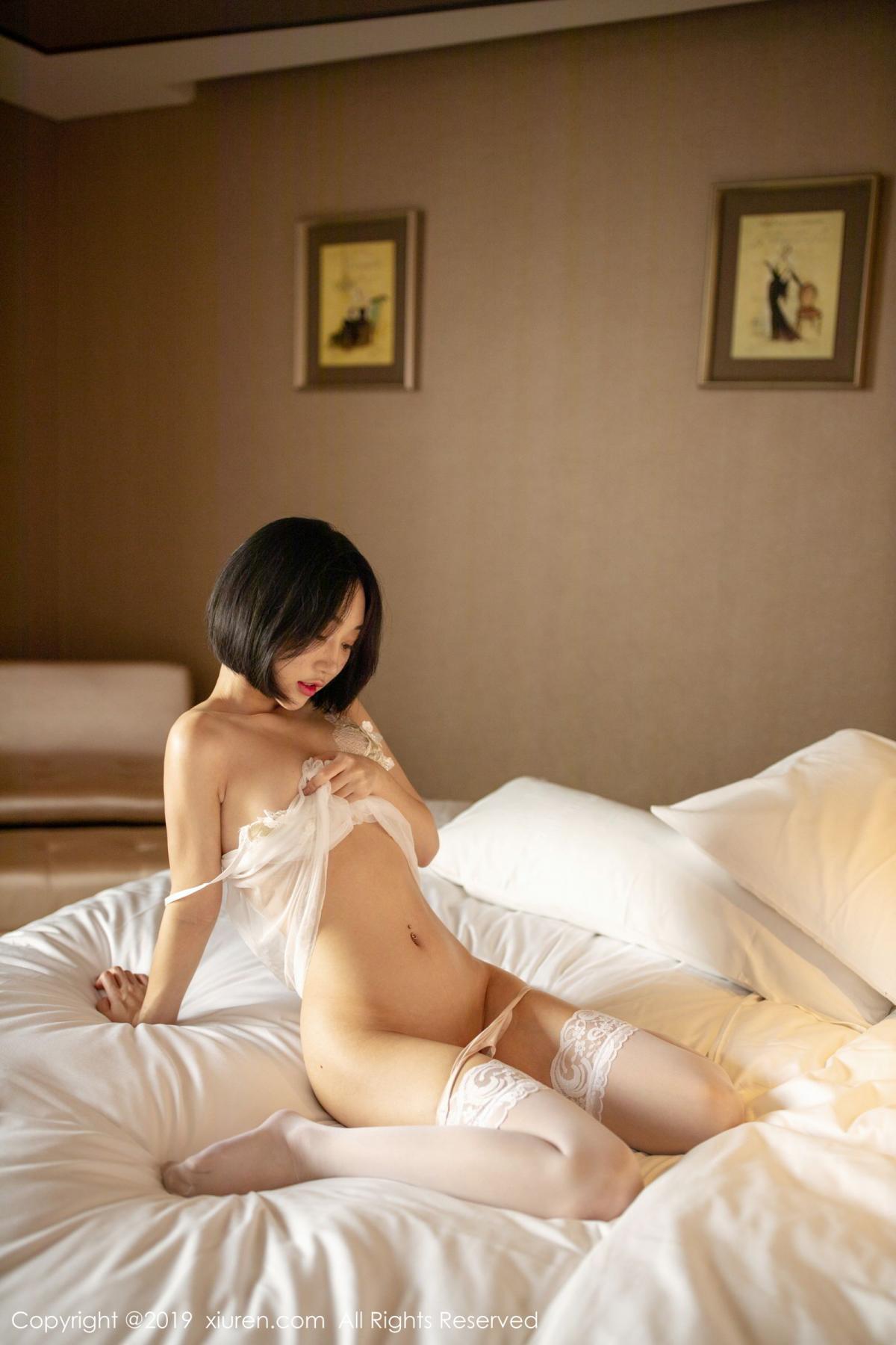 [XiuRen] Vol.1665 Xiao Jiu Yue 50P, Underwear, Wet, Xiao Jiu Yue, Xiuren