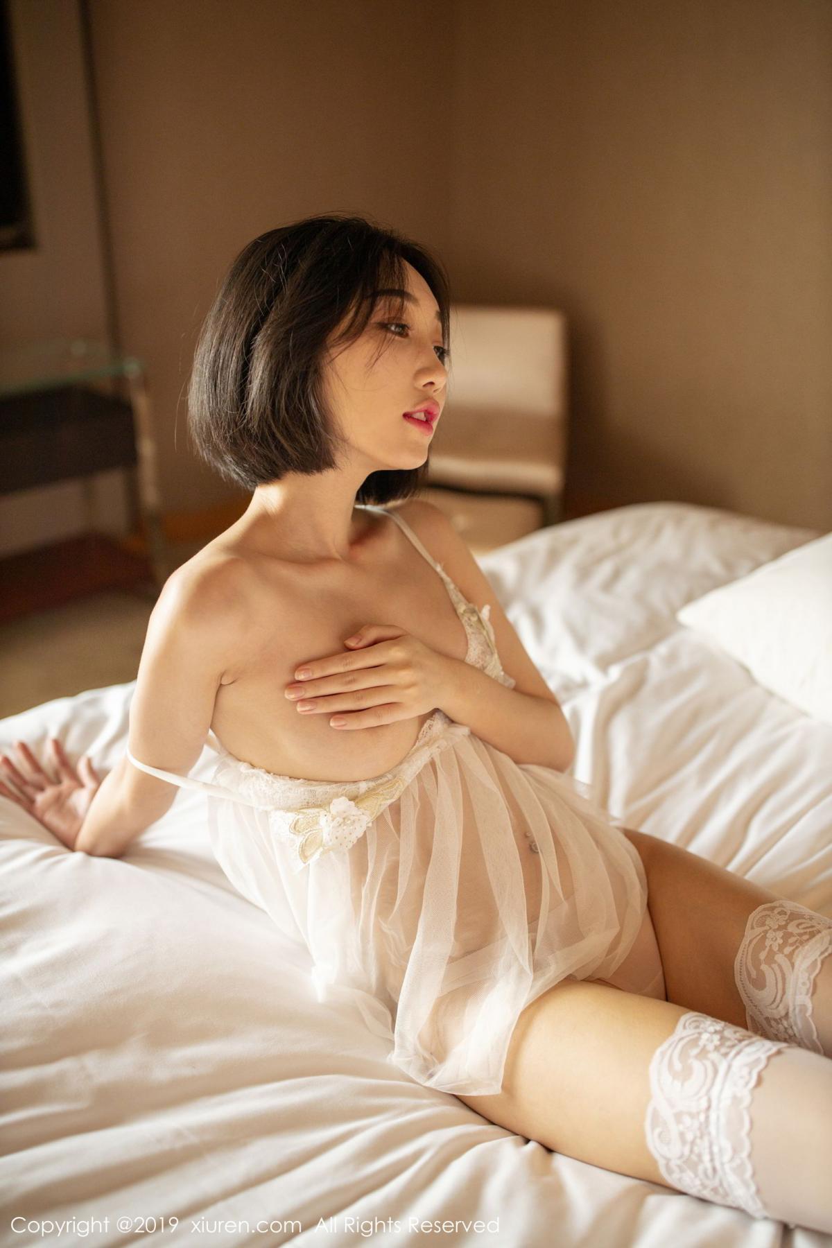 [XiuRen] Vol.1665 Xiao Jiu Yue 52P, Underwear, Wet, Xiao Jiu Yue, Xiuren
