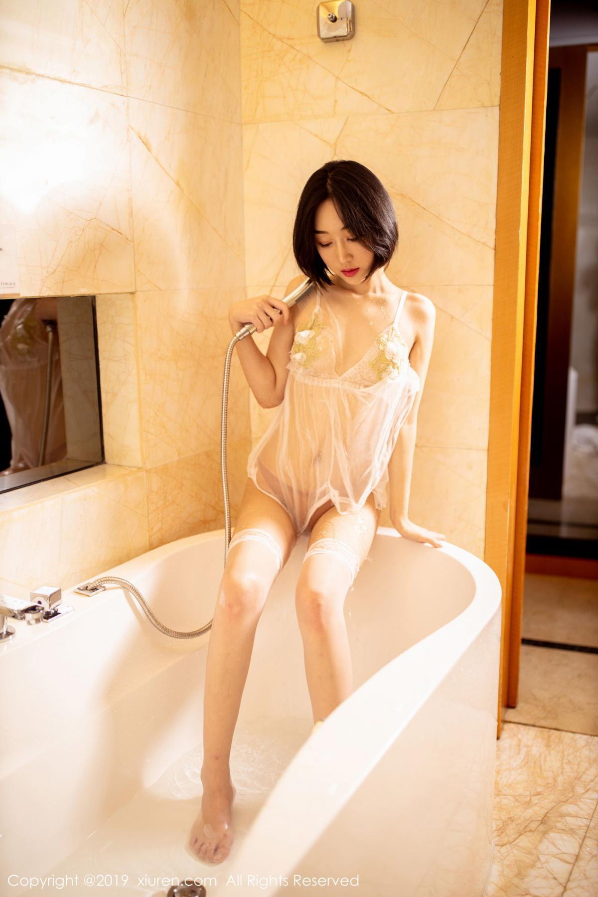 [XiuRen] Vol.1665 Xiao Jiu Yue 64P, Underwear, Wet, Xiao Jiu Yue, Xiuren