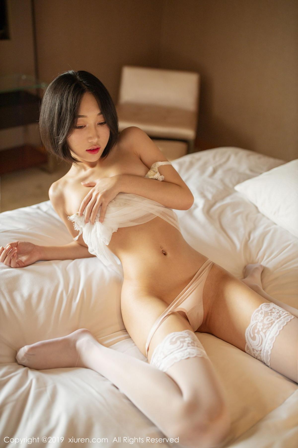 [XiuRen] Vol.1665 Xiao Jiu Yue 7P, Underwear, Wet, Xiao Jiu Yue, Xiuren