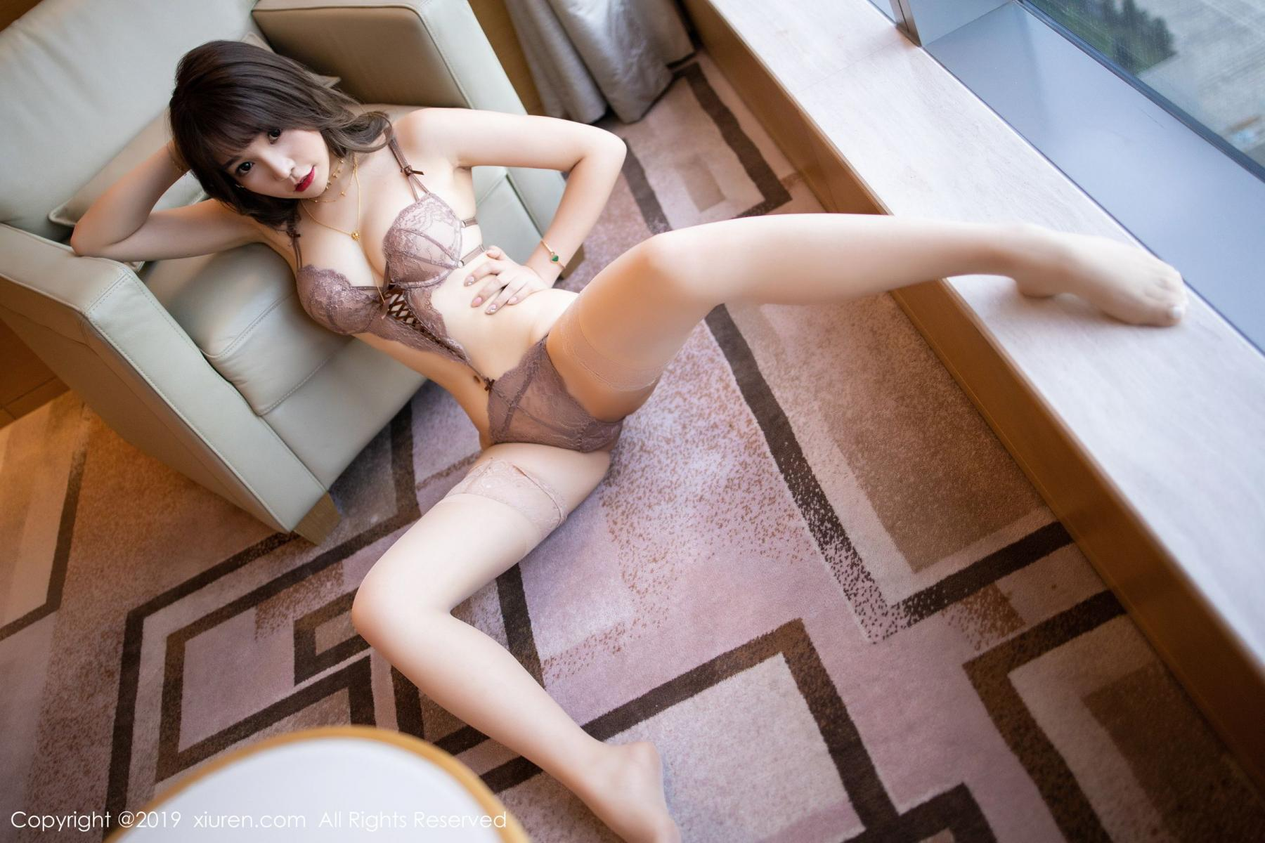 [XiuRen] Vol.1675 Chen Zhi 50P, Chen Zhi, Cheongsam, Tall, Underwear, Xiuren