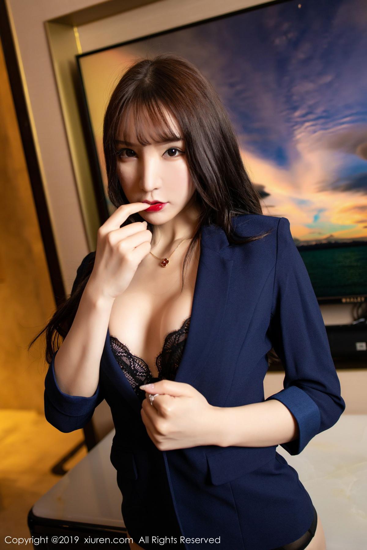 [XiuRen] Vol.1680 Zhou Yu Xi 11P, Black Silk, Underwear, Xiuren, Zhou Yu Xi