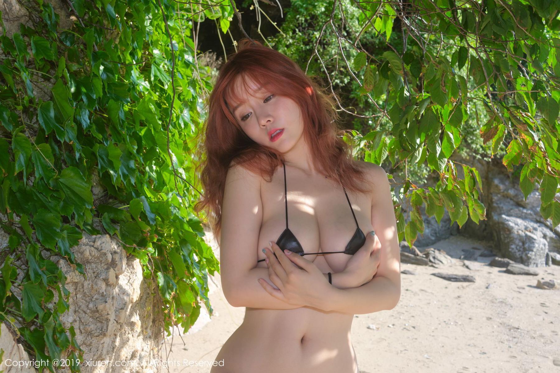 [XiuRen] Vol.1681 Wang Yu Chun 33P, Beach, Bikini, Wang Yu Chun, Xiuren