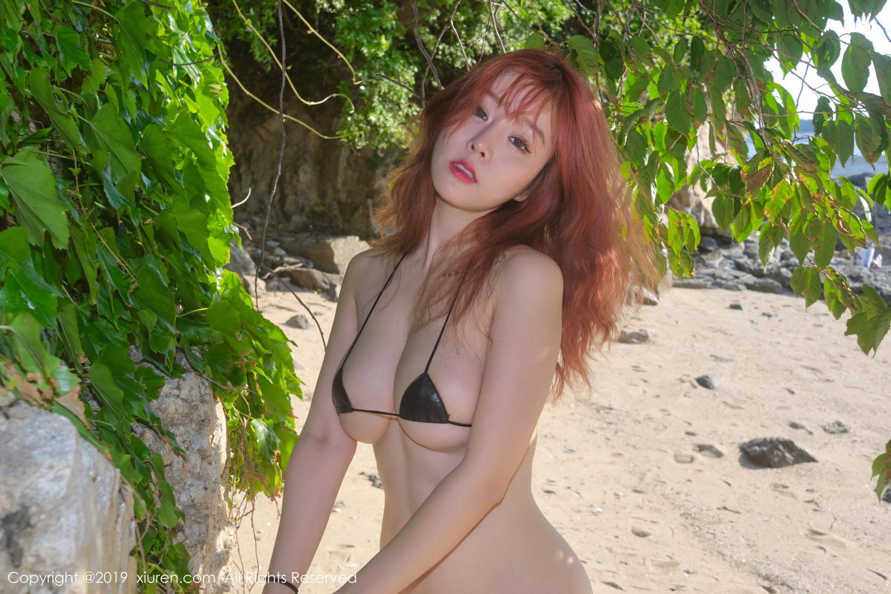 [XiuRen] Vol.1681 Wang Yu Chun 35P, Beach, Bikini, Wang Yu Chun, Xiuren