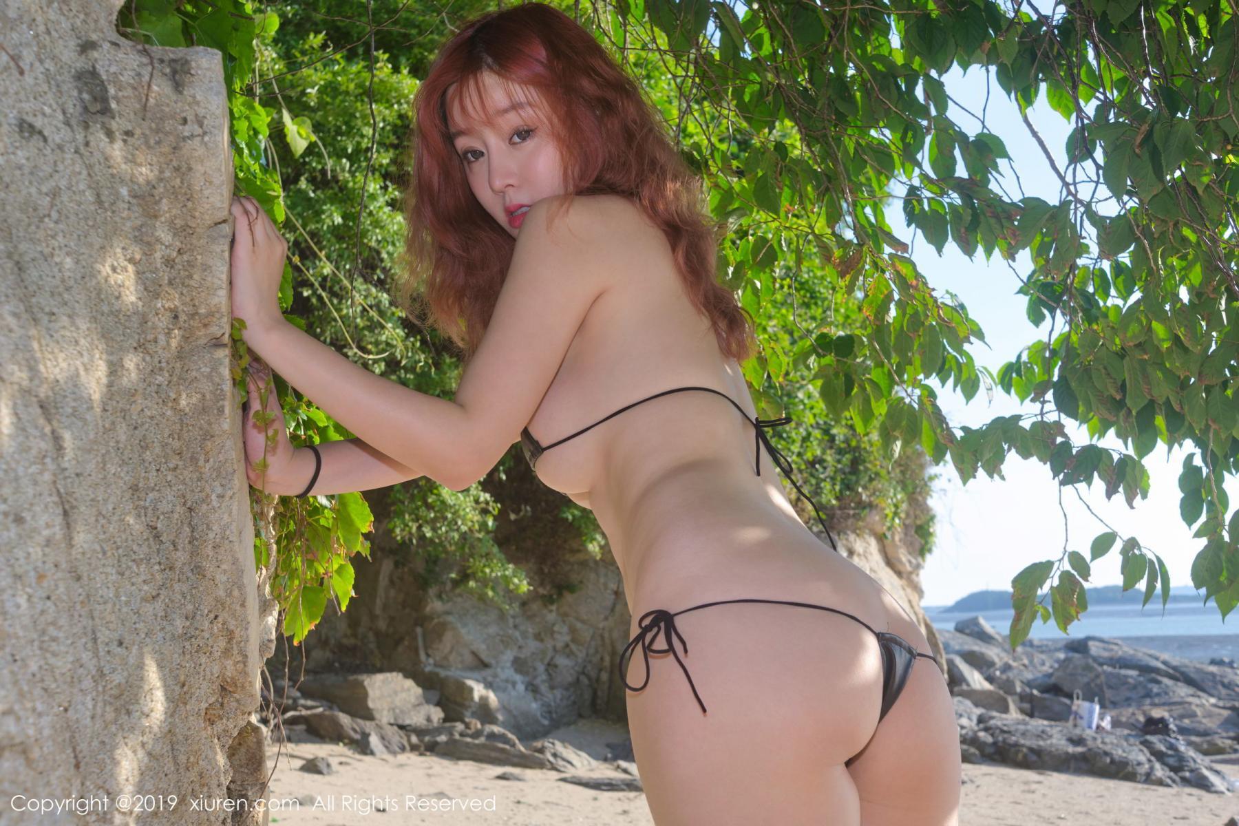 [XiuRen] Vol.1681 Wang Yu Chun 38P, Beach, Bikini, Wang Yu Chun, Xiuren