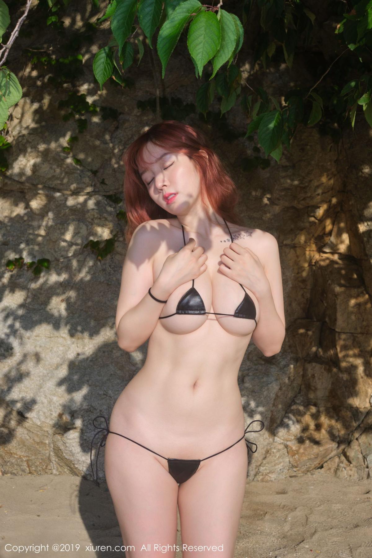 [XiuRen] Vol.1681 Wang Yu Chun 40P, Beach, Bikini, Wang Yu Chun, Xiuren